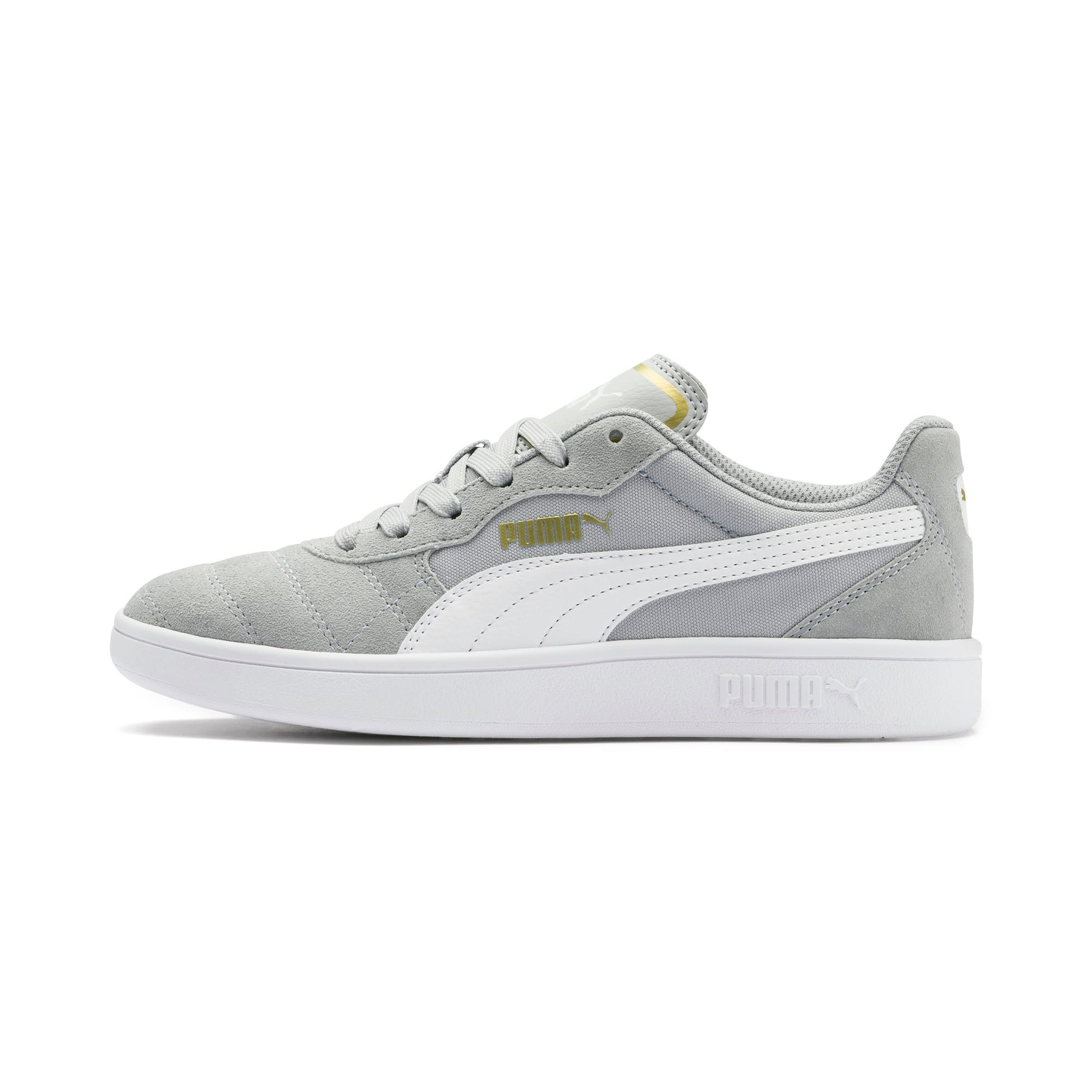 Thumbnail 1 of Astro Kick Sneakers JR, HRise-White-Gold-GViolet-Gum, medium
