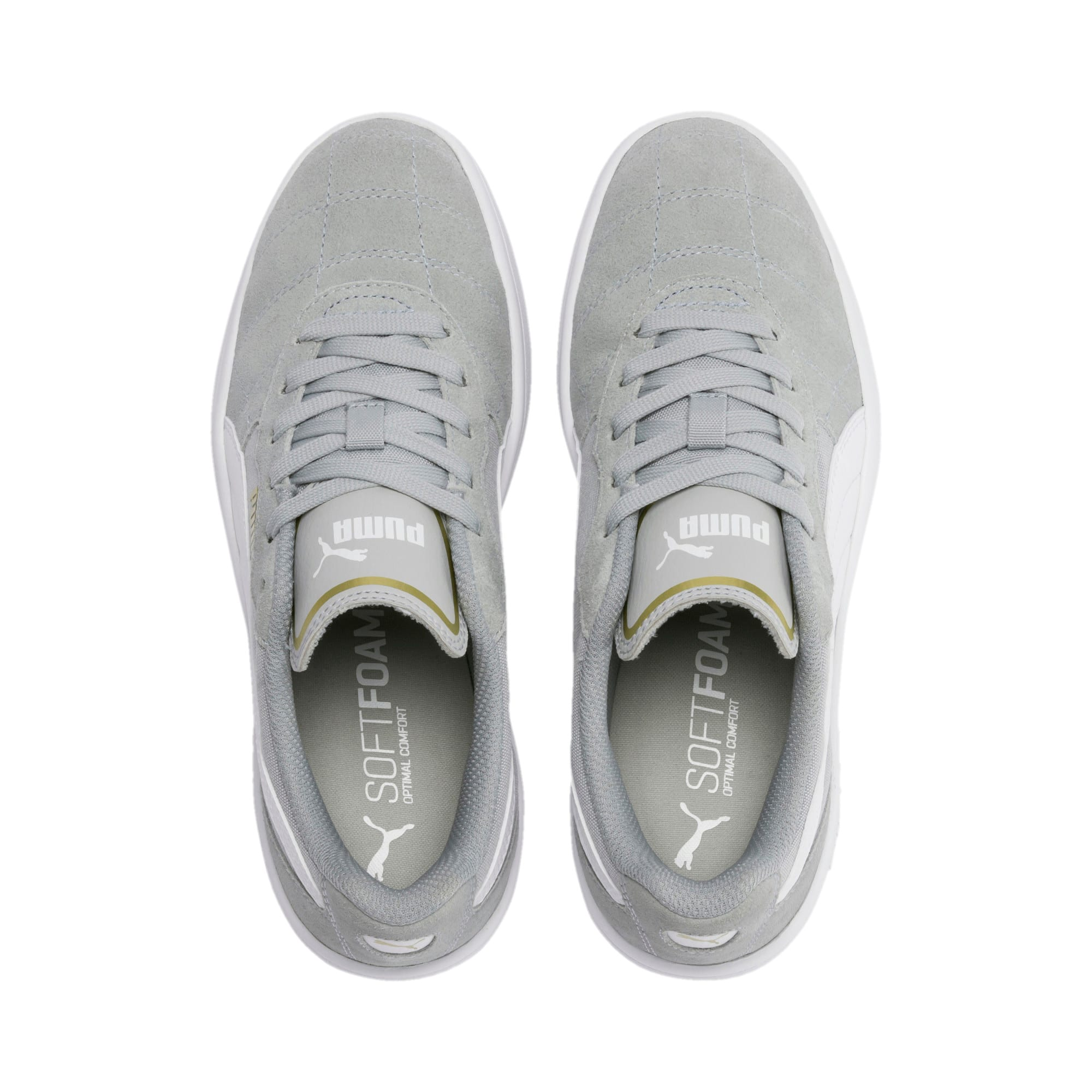 Thumbnail 6 of Astro Kick Sneakers JR, HRise-White-Gold-GViolet-Gum, medium