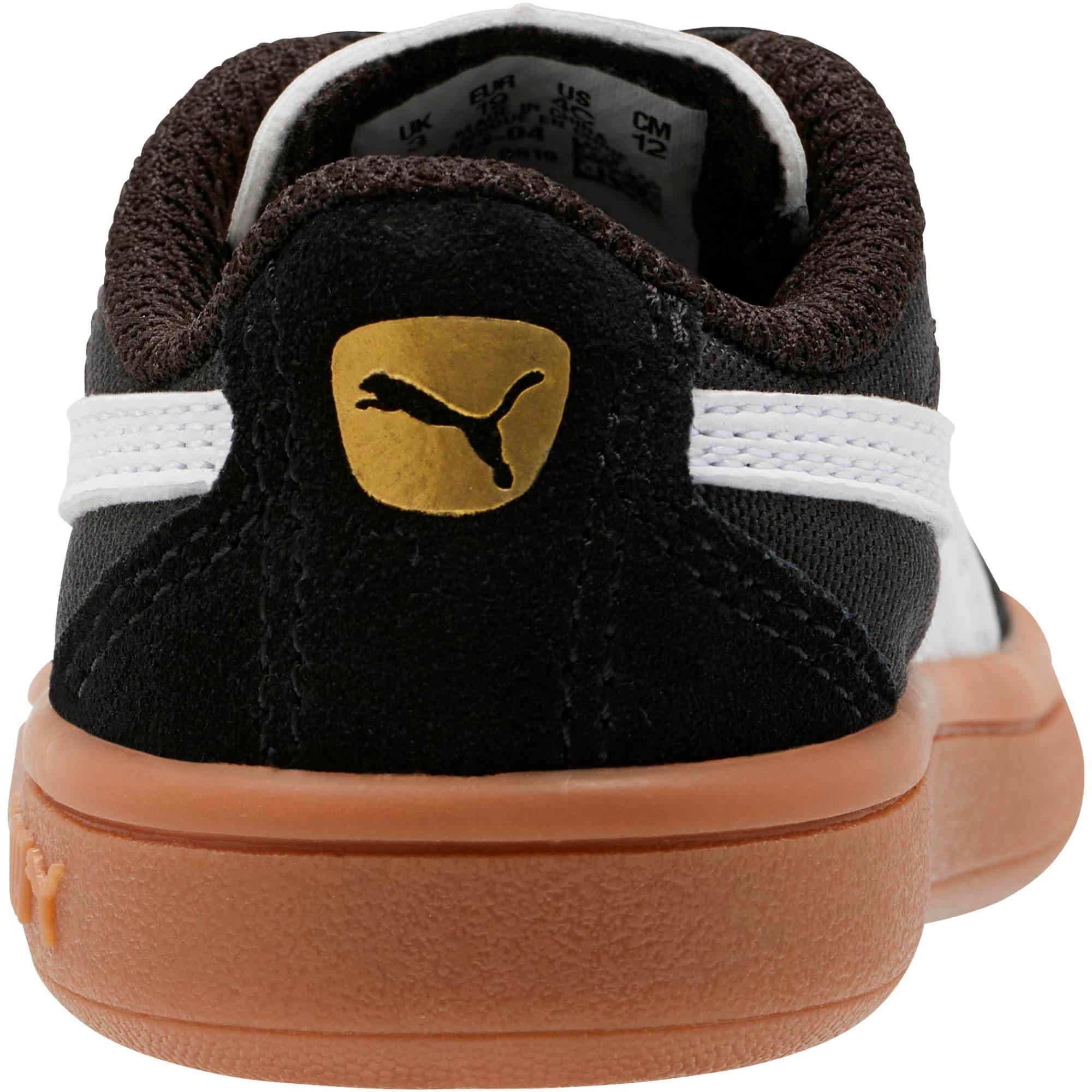 Miniatura 3 de Zapatos Astro Kick AC para bebé, Puma Black-Puma White-Gold, mediano