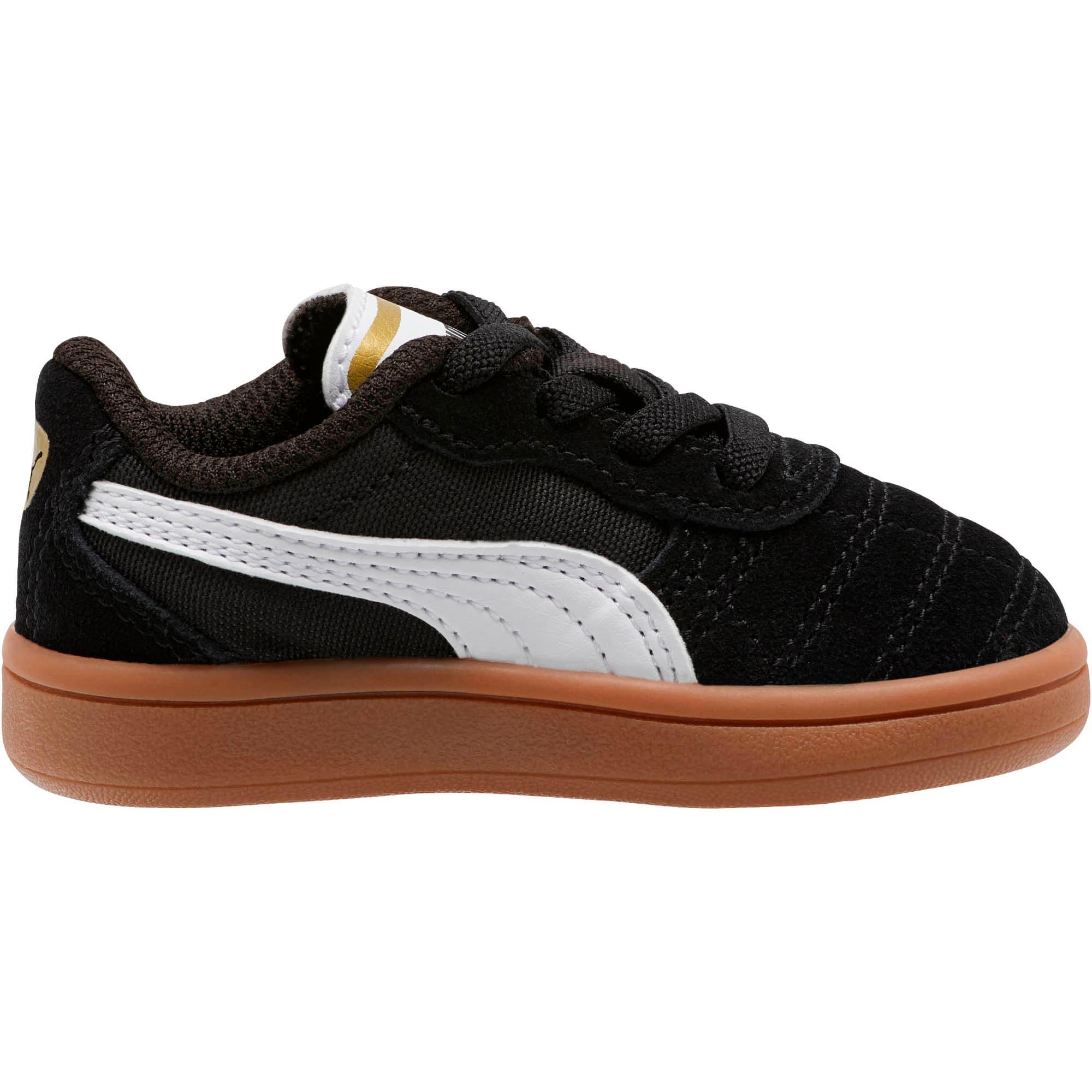 Miniatura 4 de Zapatos Astro Kick AC para bebé, Puma Black-Puma White-Gold, mediano
