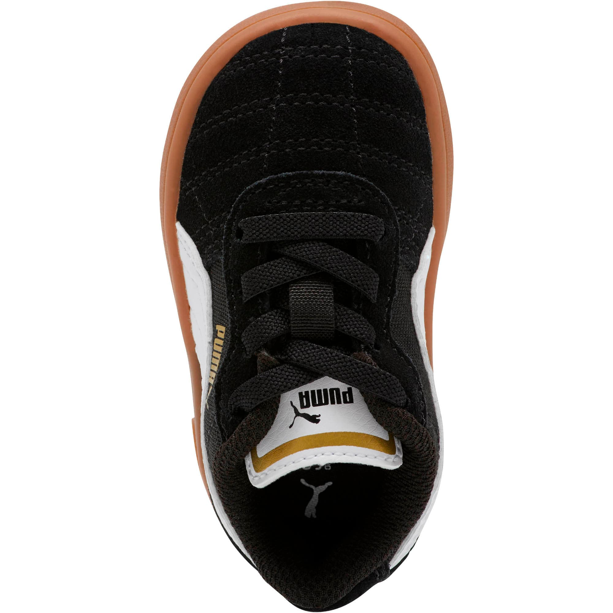 Miniatura 5 de Zapatos Astro Kick AC para bebé, Puma Black-Puma White-Gold, mediano