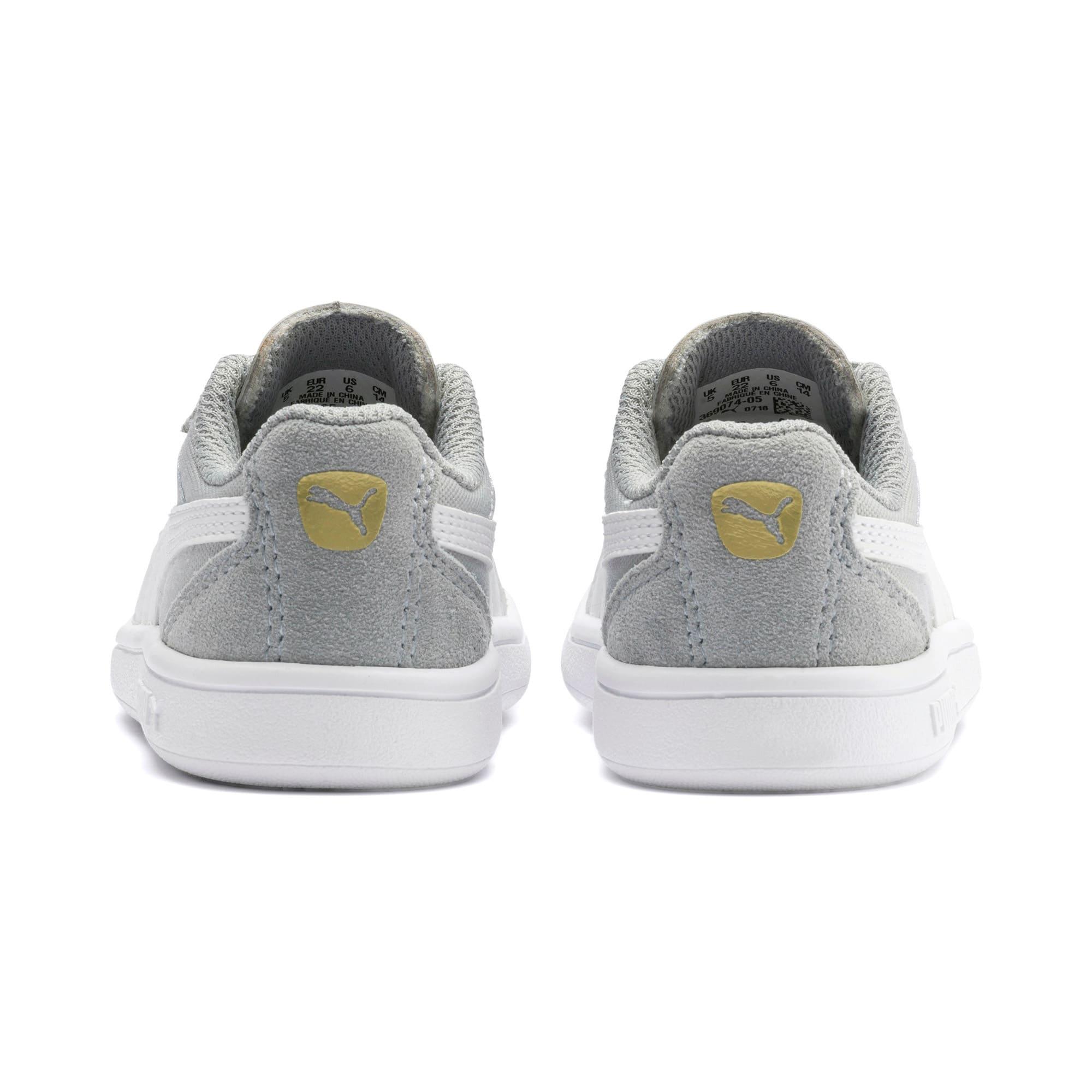 Thumbnail 3 of Astro Kick AC Toddler Shoes, H Rise-Wht-Gold-G Violet-Gum, medium