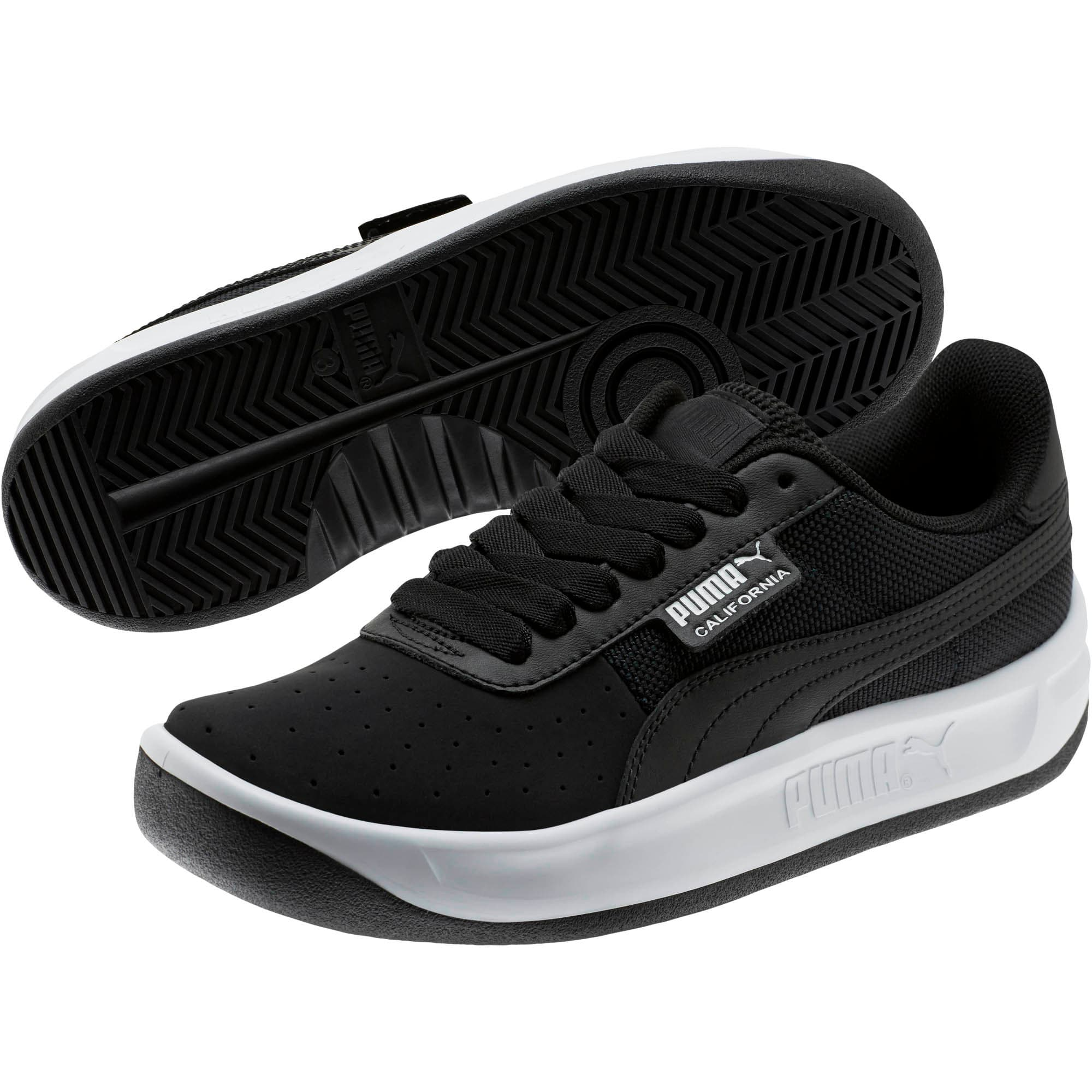 Thumbnail 2 of California Sneakers JR, P Black-P White-P Black, medium