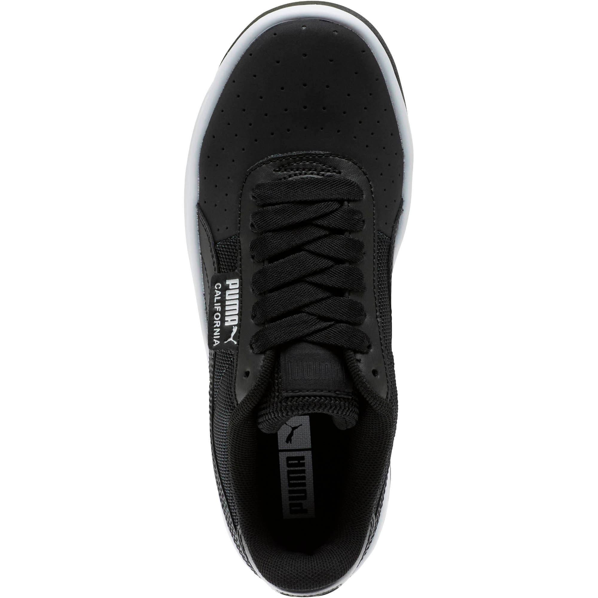Thumbnail 5 of California Sneakers JR, P Black-P White-P Black, medium