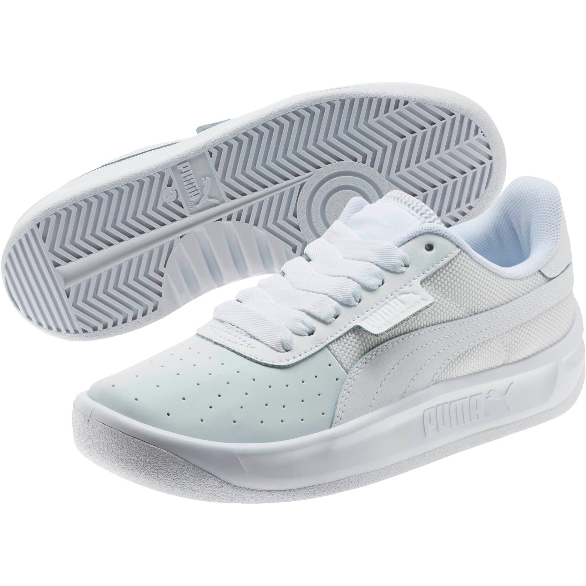 Thumbnail 2 of California Sneakers JR, P White-P White-P White, medium