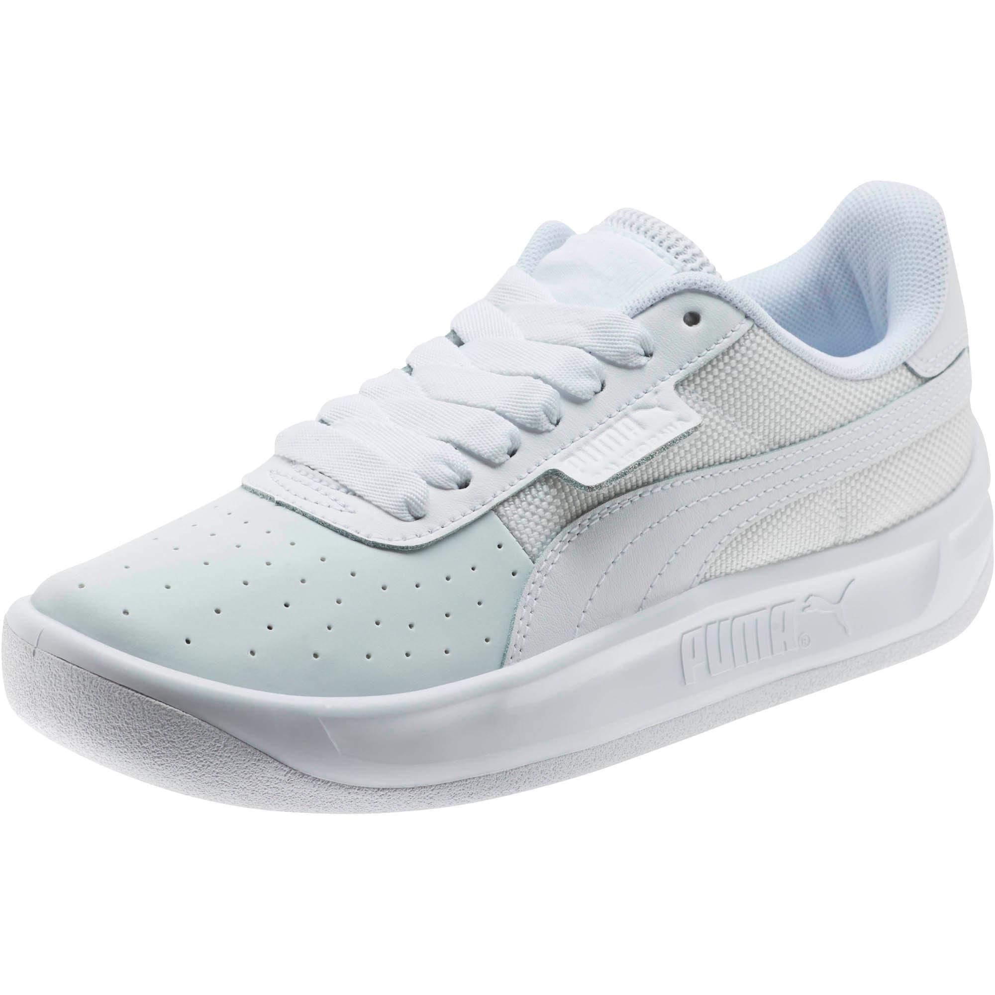 Thumbnail 1 of California Sneakers JR, P White-P White-P White, medium