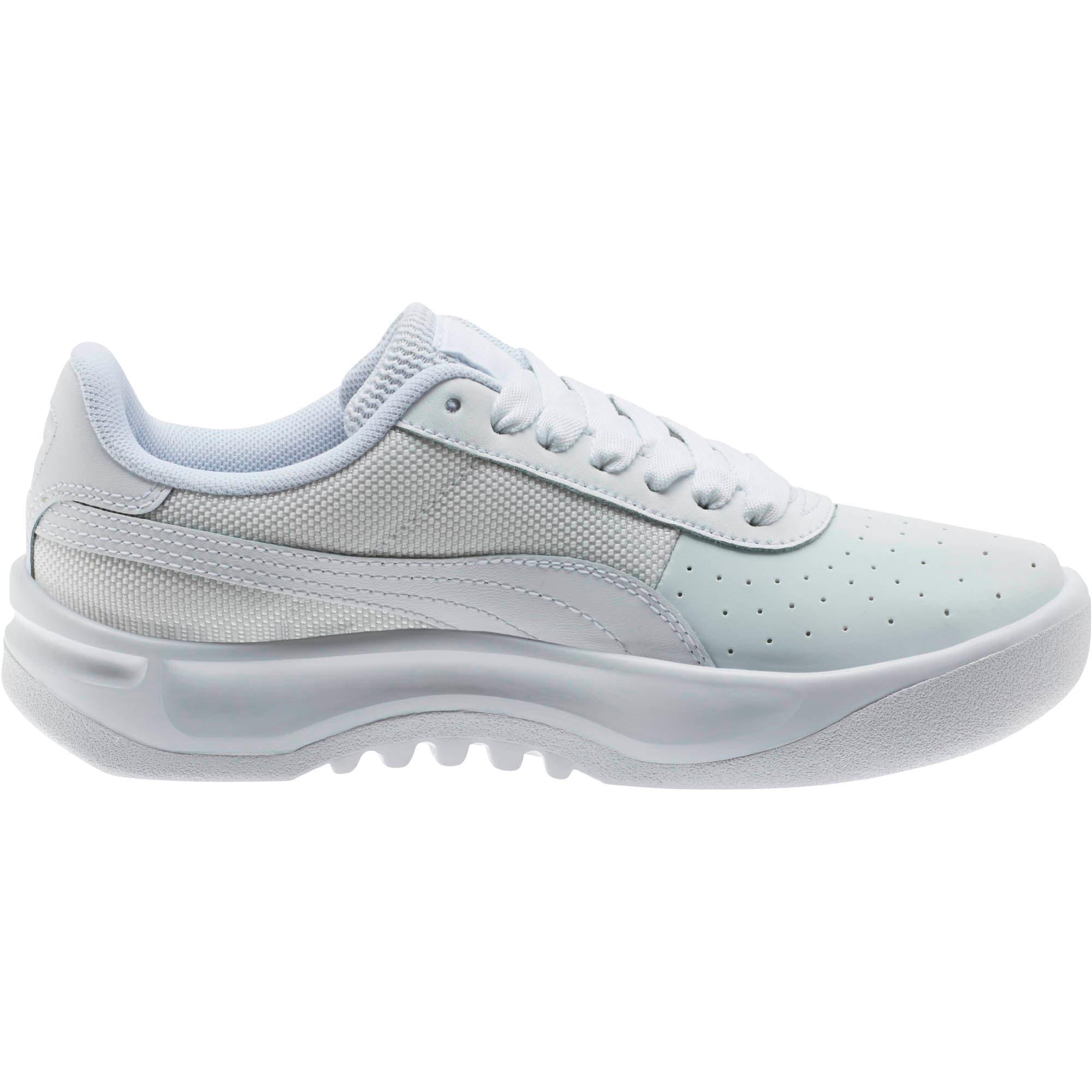 Thumbnail 4 of California Sneakers JR, P White-P White-P White, medium
