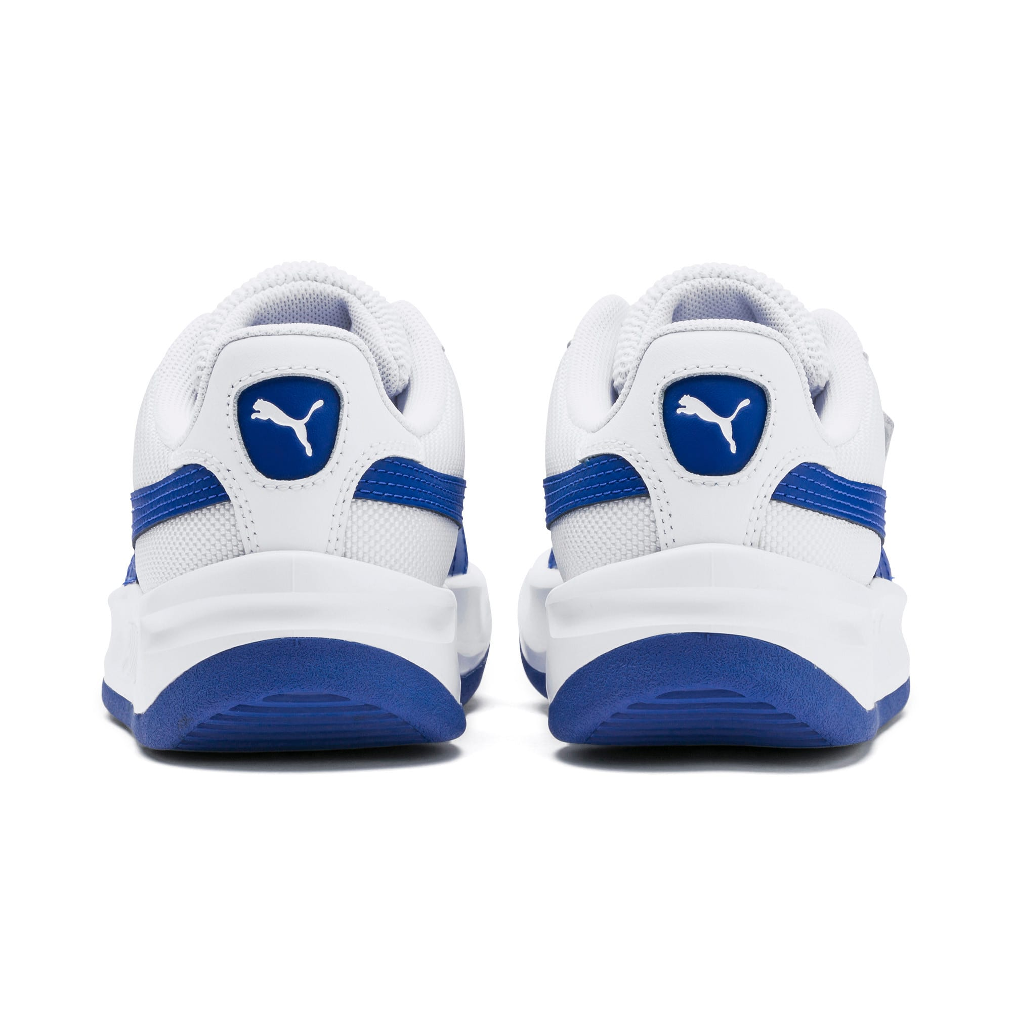 Thumbnail 3 of California Sneakers JR, Puma White-Galaxy Blue, medium