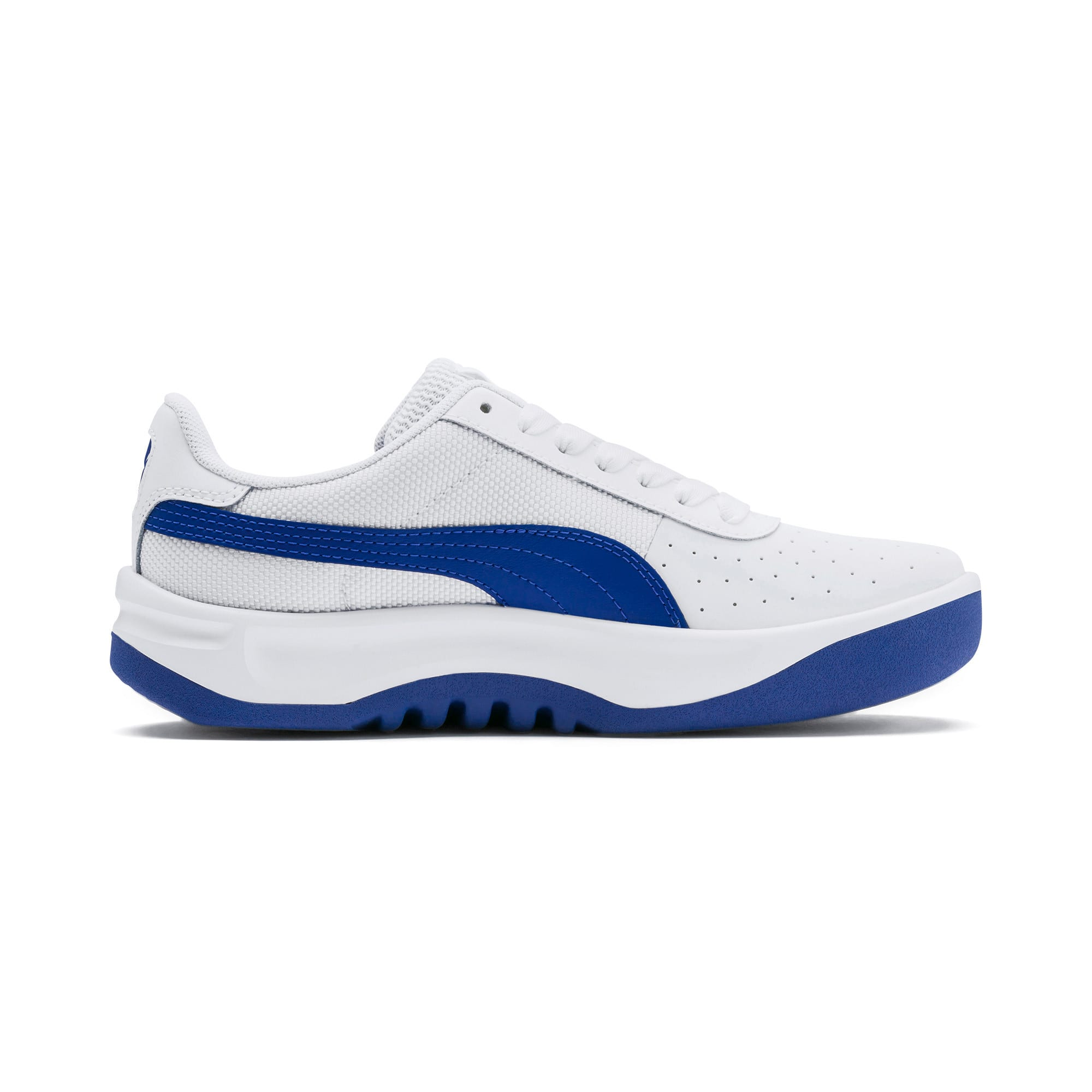 Thumbnail 5 of California Sneakers JR, Puma White-Galaxy Blue, medium