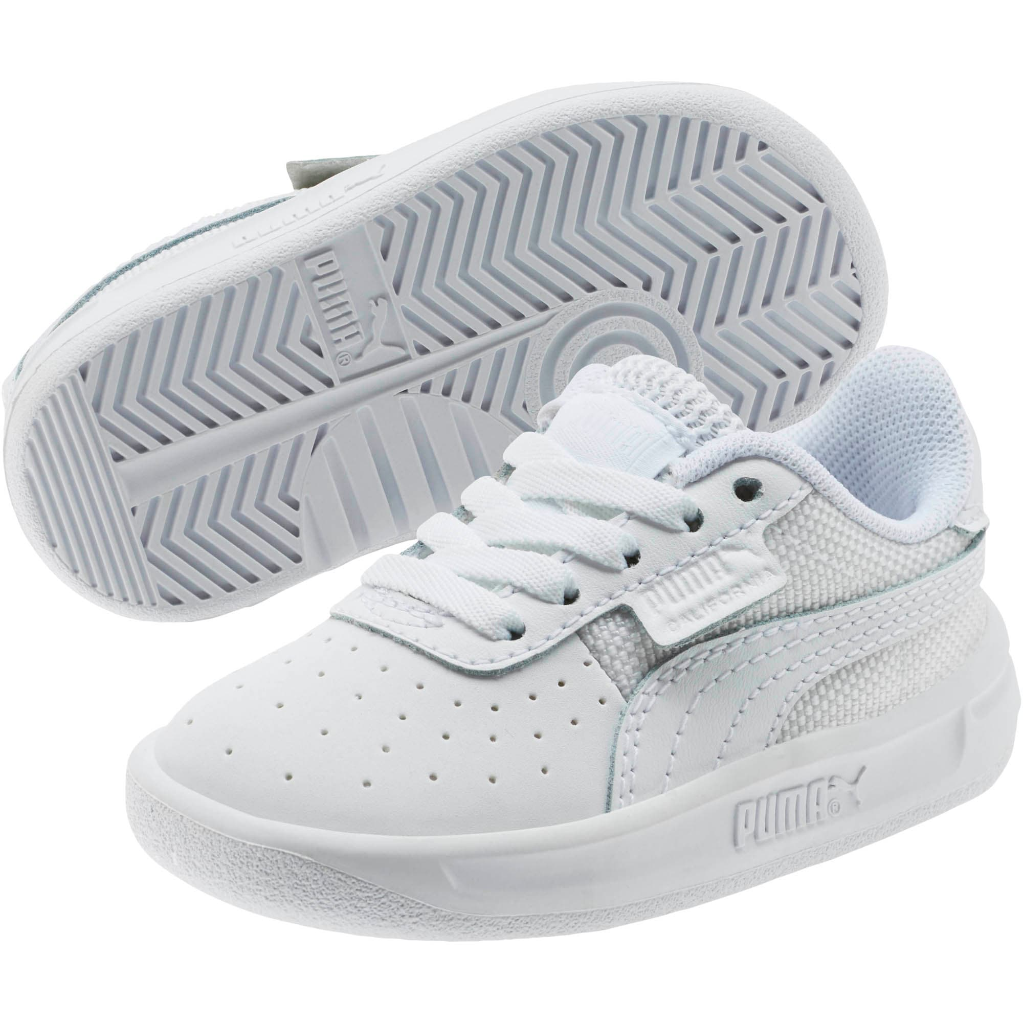 Thumbnail 2 of California Toddler Shoes, P White-P White-Puma White, medium