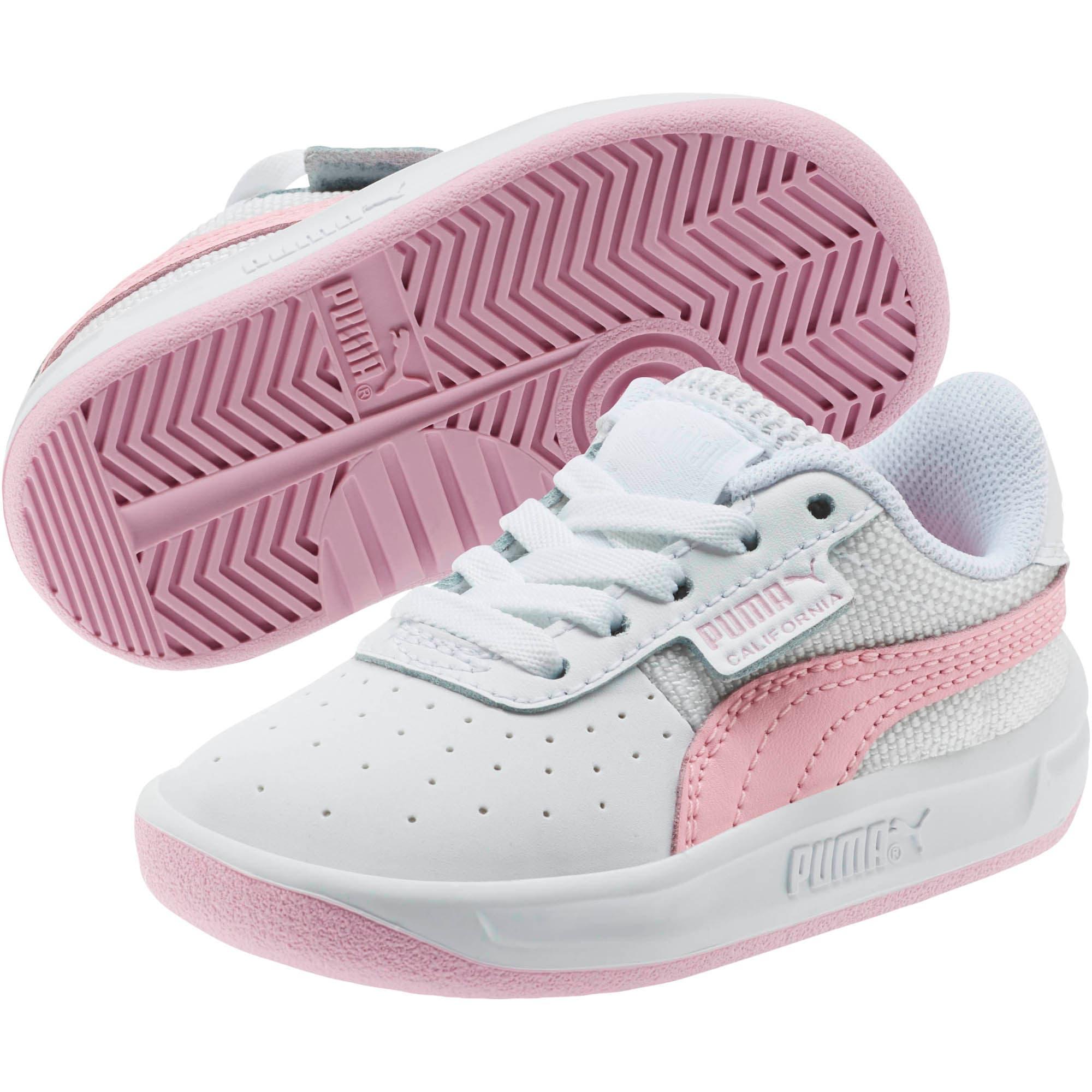 Thumbnail 2 of California Toddler Shoes, Puma Wht-Pale Pink-Puma Wht, medium