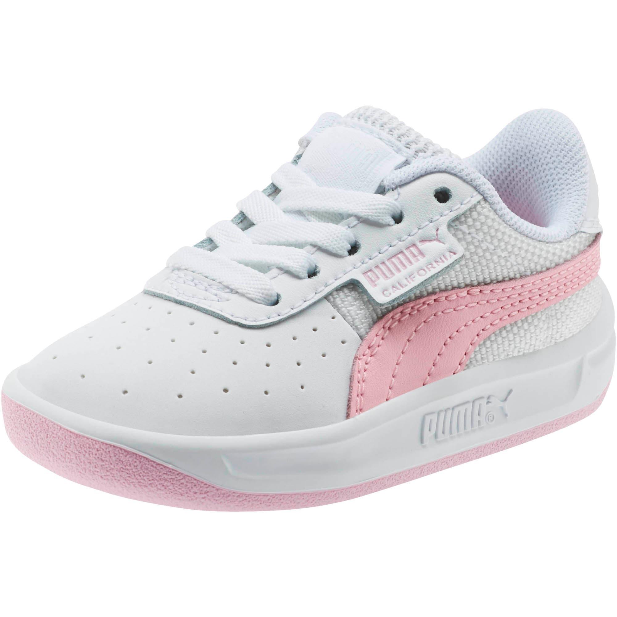 Thumbnail 1 of California Toddler Shoes, Puma Wht-Pale Pink-Puma Wht, medium