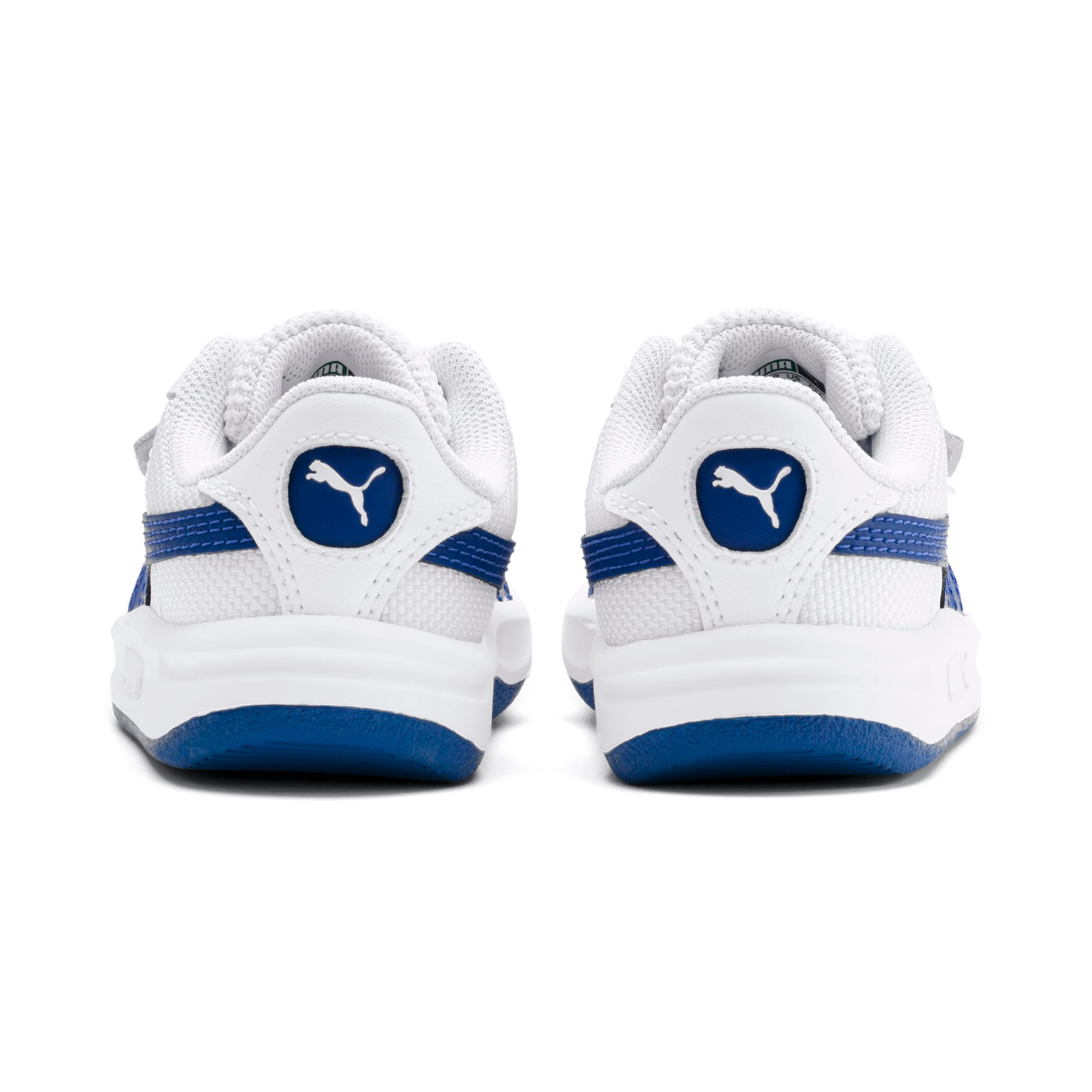 California Toddler Shoes, Puma White-Galaxy Blue, large