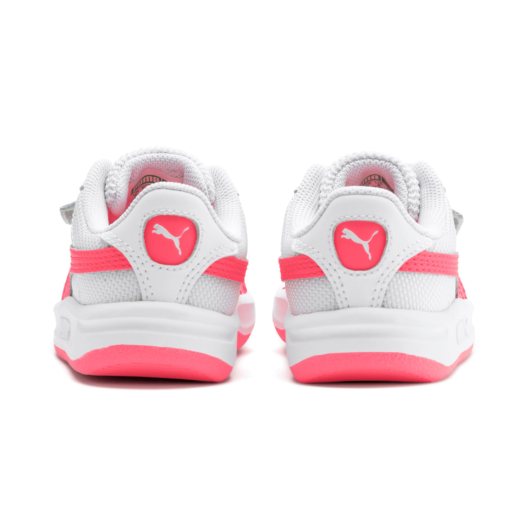 Thumbnail 3 of California Toddler Shoes, Puma White-Pink Alert, medium