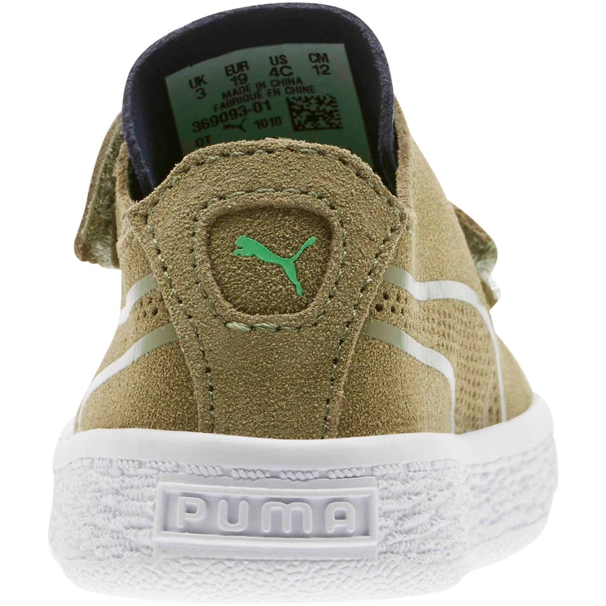 Thumbnail 3 of Suede Deconstruct Monster Toddler Shoes, Olivine-Peacoat-Irish Green, medium