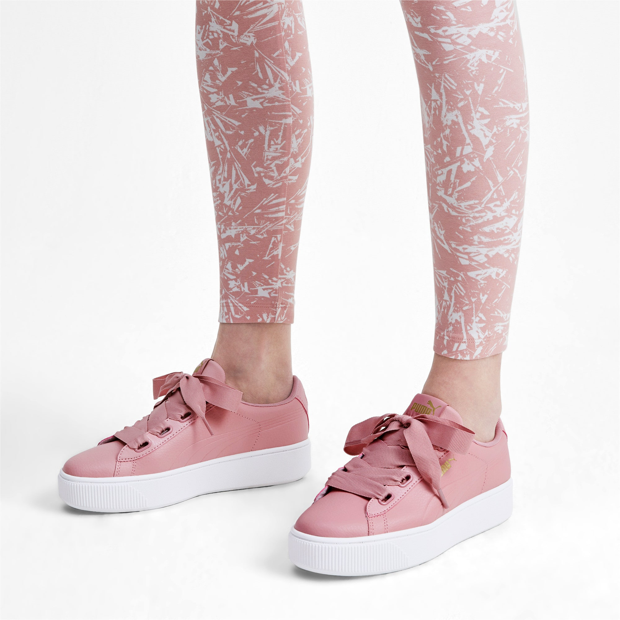 Puma Damen Vikky Stacked Ribbon S Sneaker