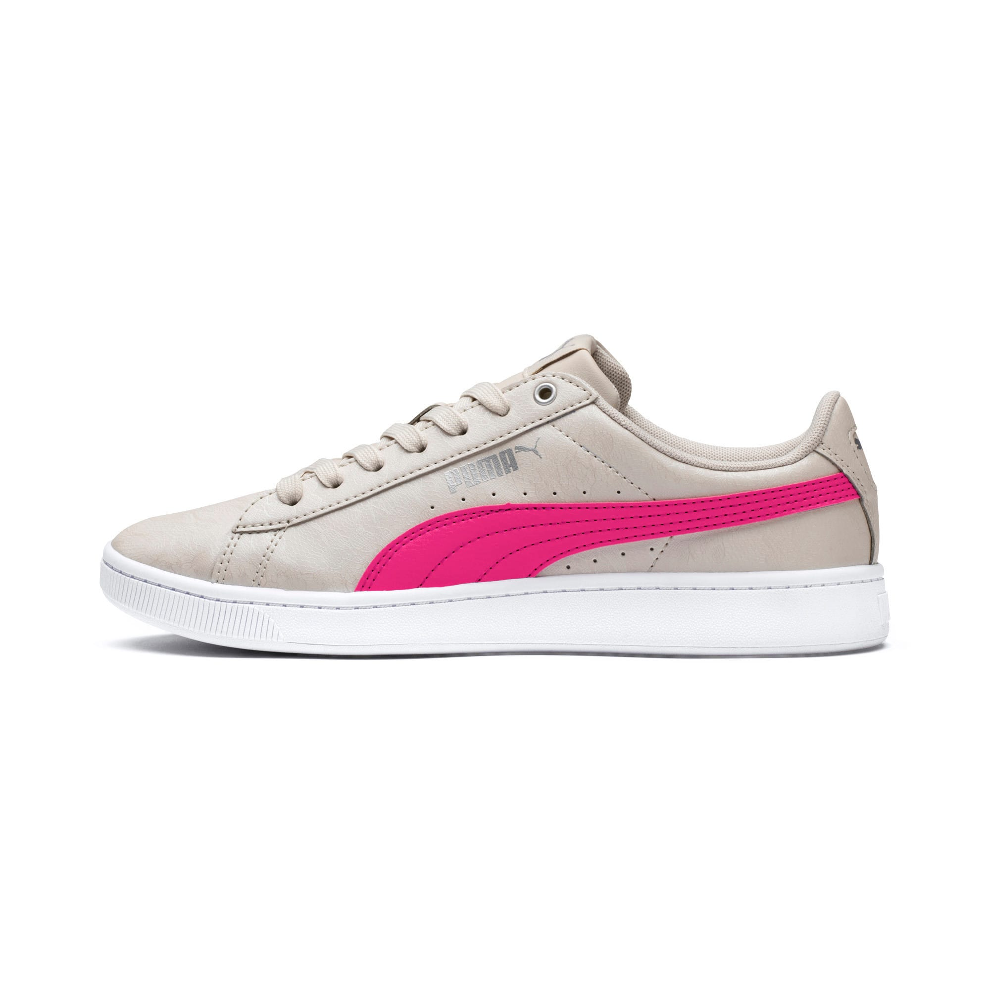 Thumbnail 1 of PUMA Vikky v2 Summer Women's Sneakers, Silver Gray-F Purple-Silver, medium