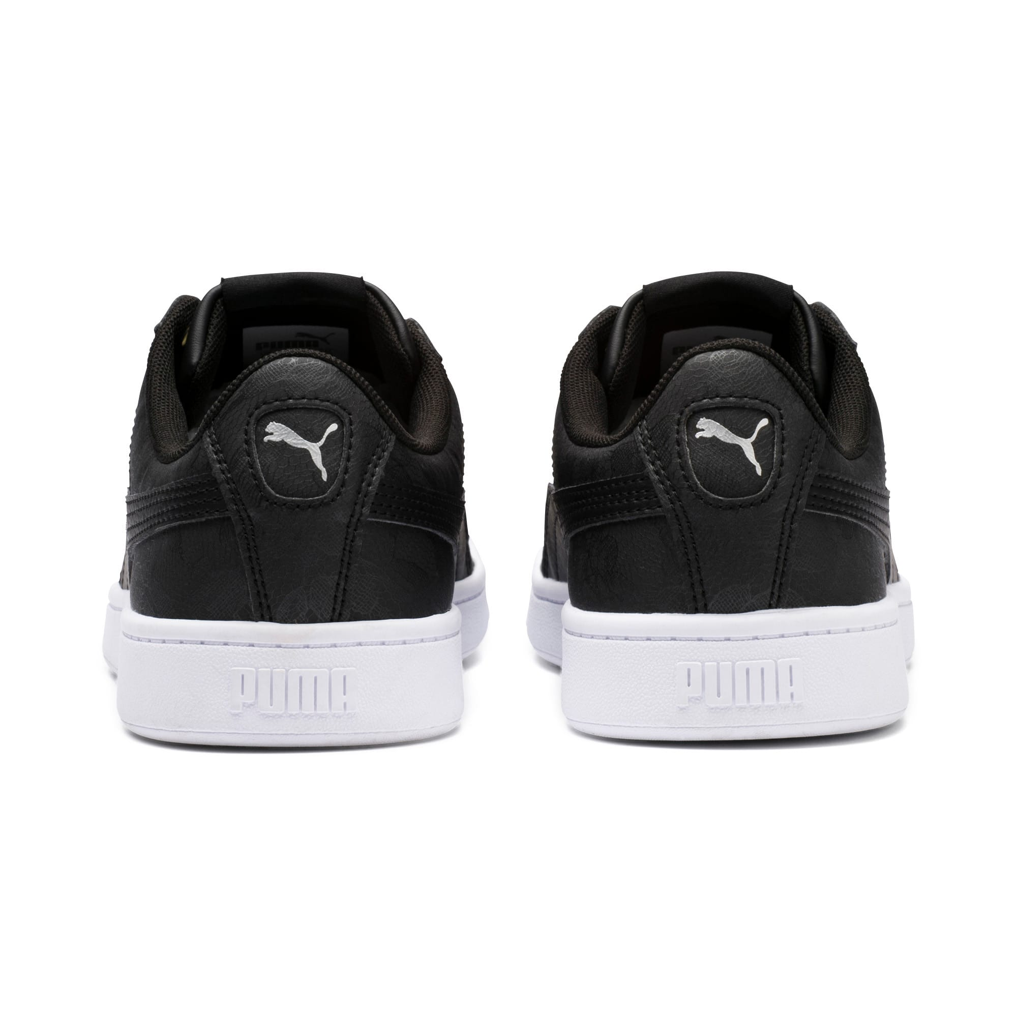 Thumbnail 4 of PUMA Vikky v2 Summer Women's Sneakers, Puma Black-Silver-Puma White, medium