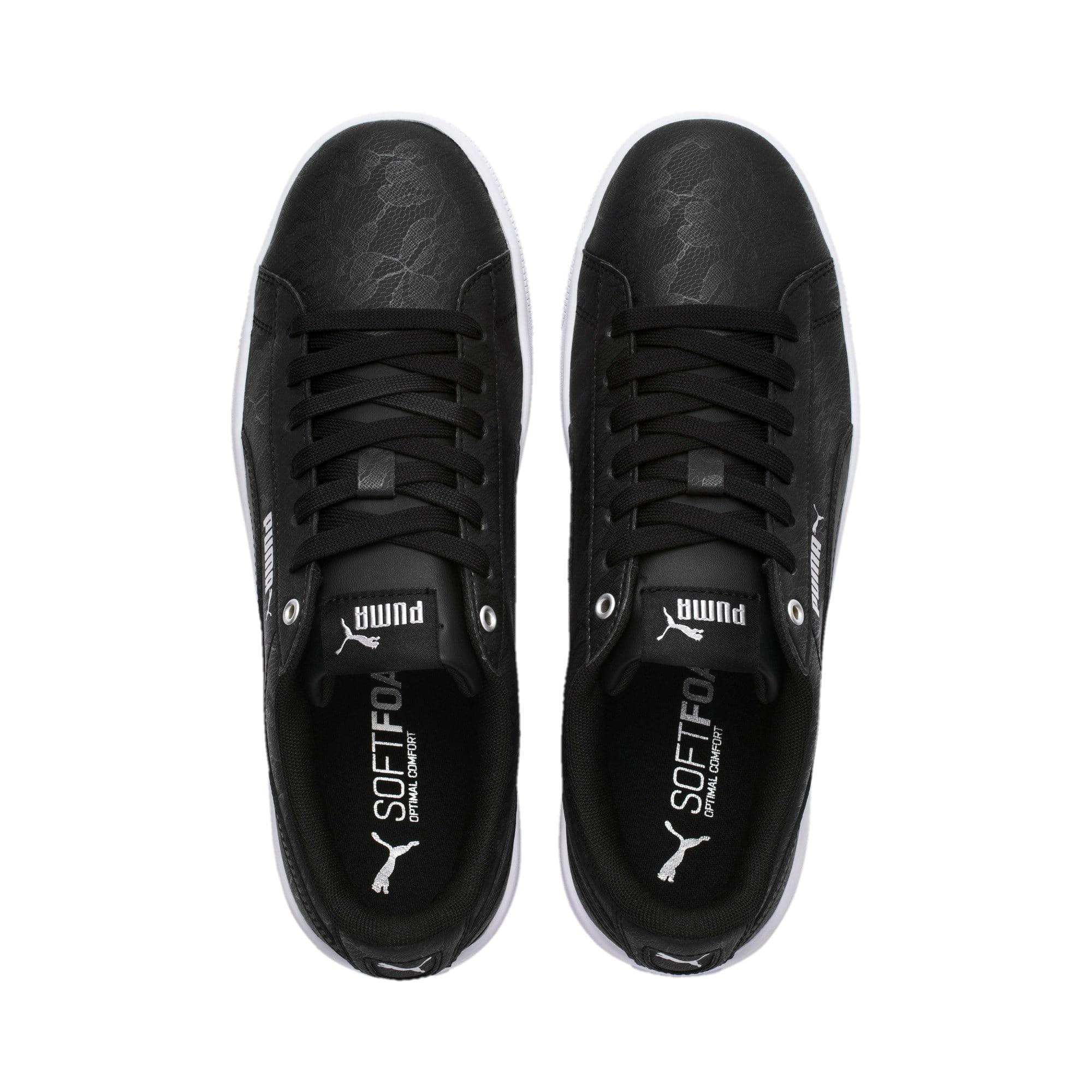 Thumbnail 6 of PUMA Vikky v2 Summer Women's Sneakers, Puma Black-Silver-Puma White, medium