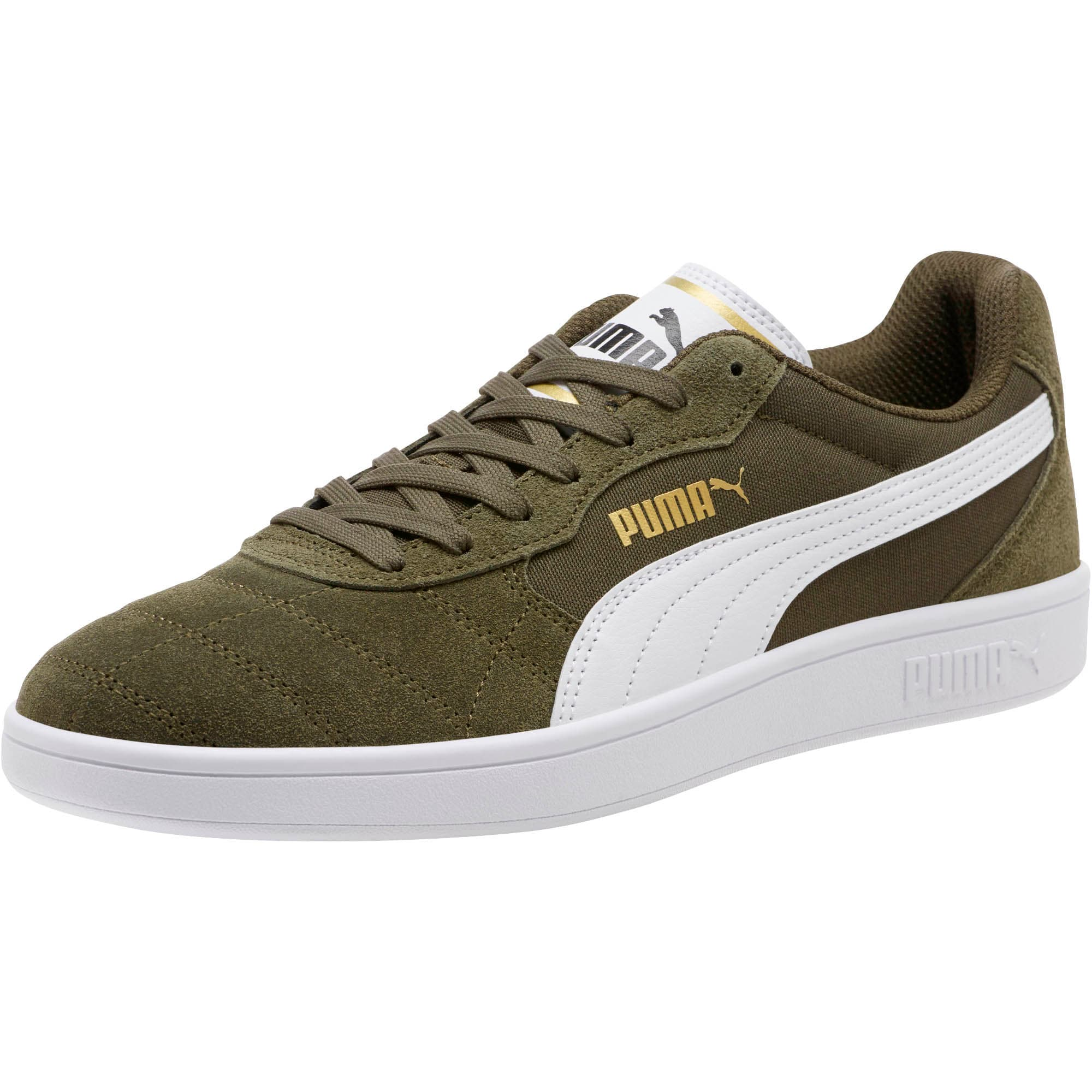 Thumbnail 1 of Astro Kick Sneakers, Forest Night-White-Gold, medium