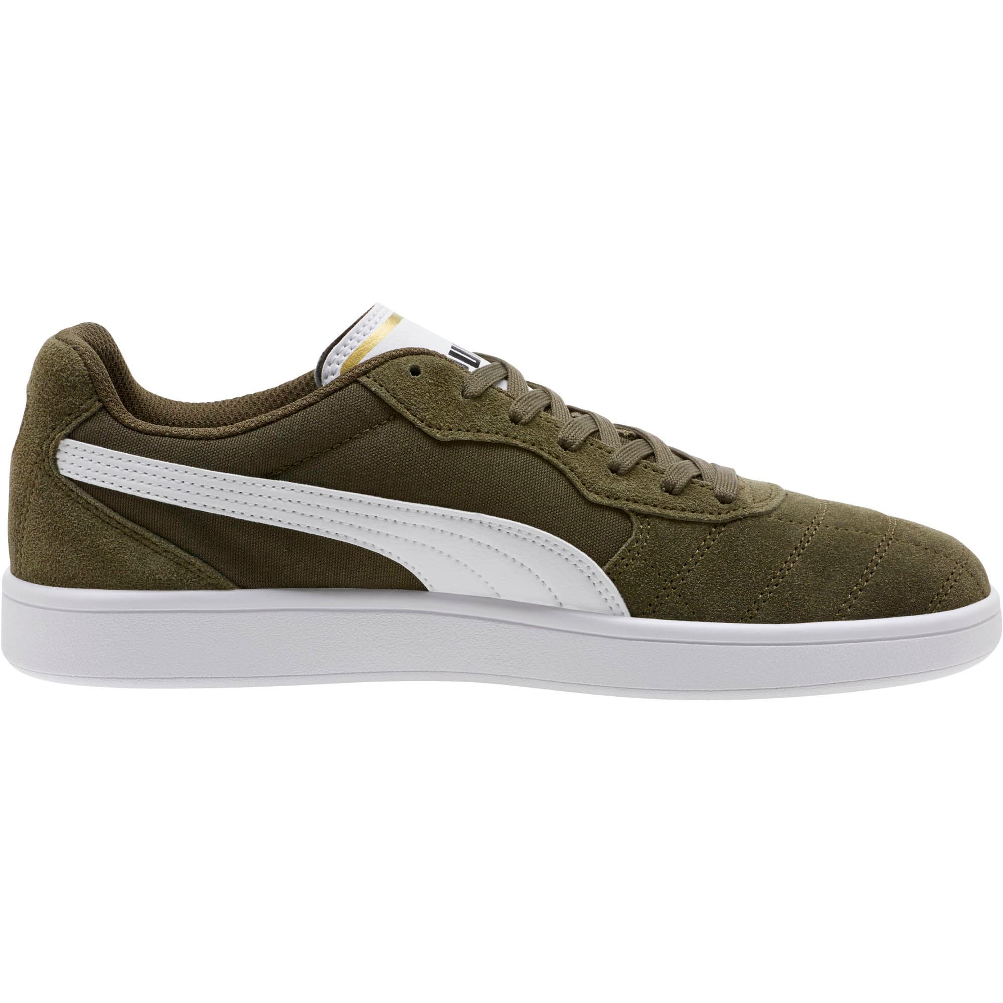 Thumbnail 3 of Astro Kick Sneakers, Forest Night-White-Gold, medium