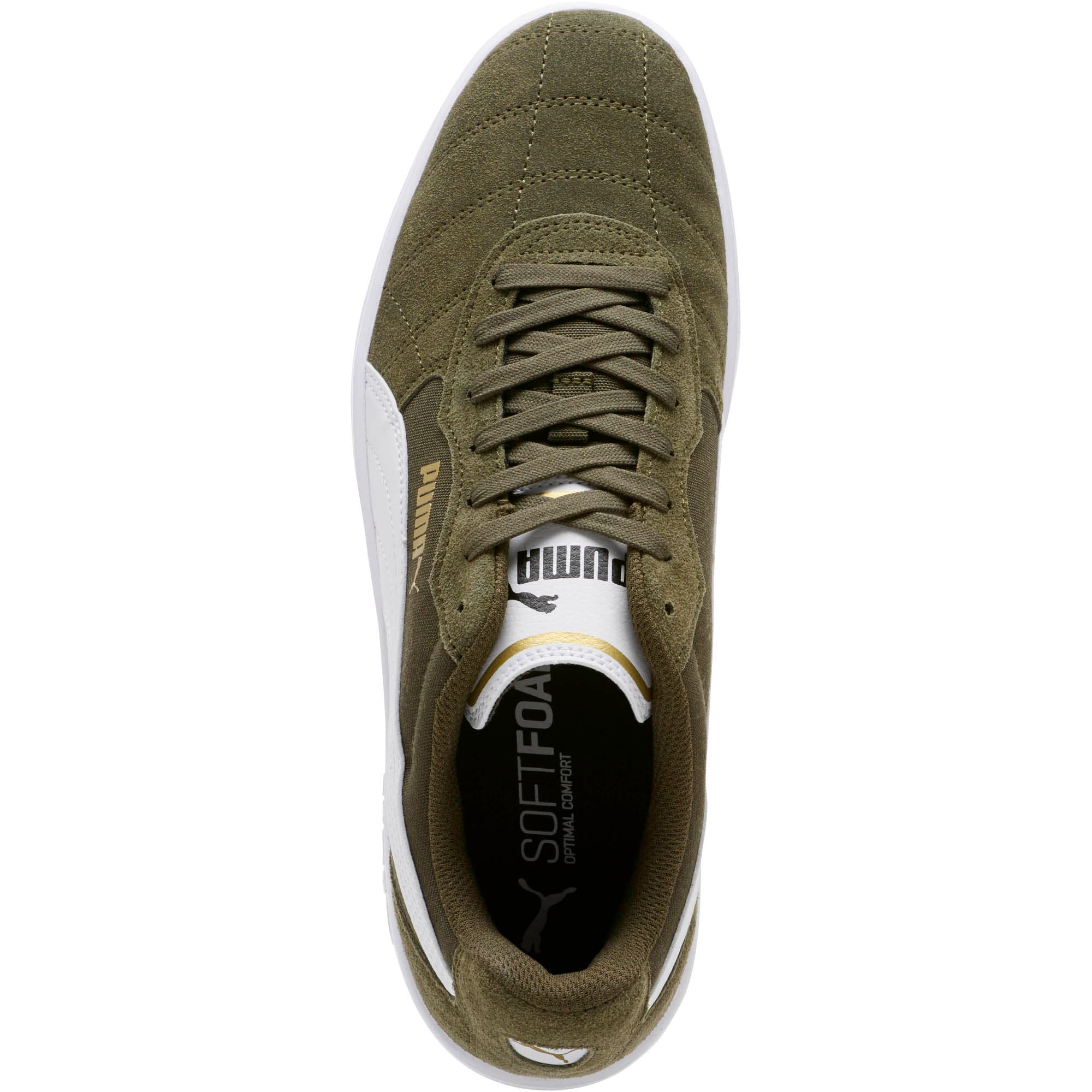 Thumbnail 5 of Astro Kick Sneakers, Forest Night-White-Gold, medium