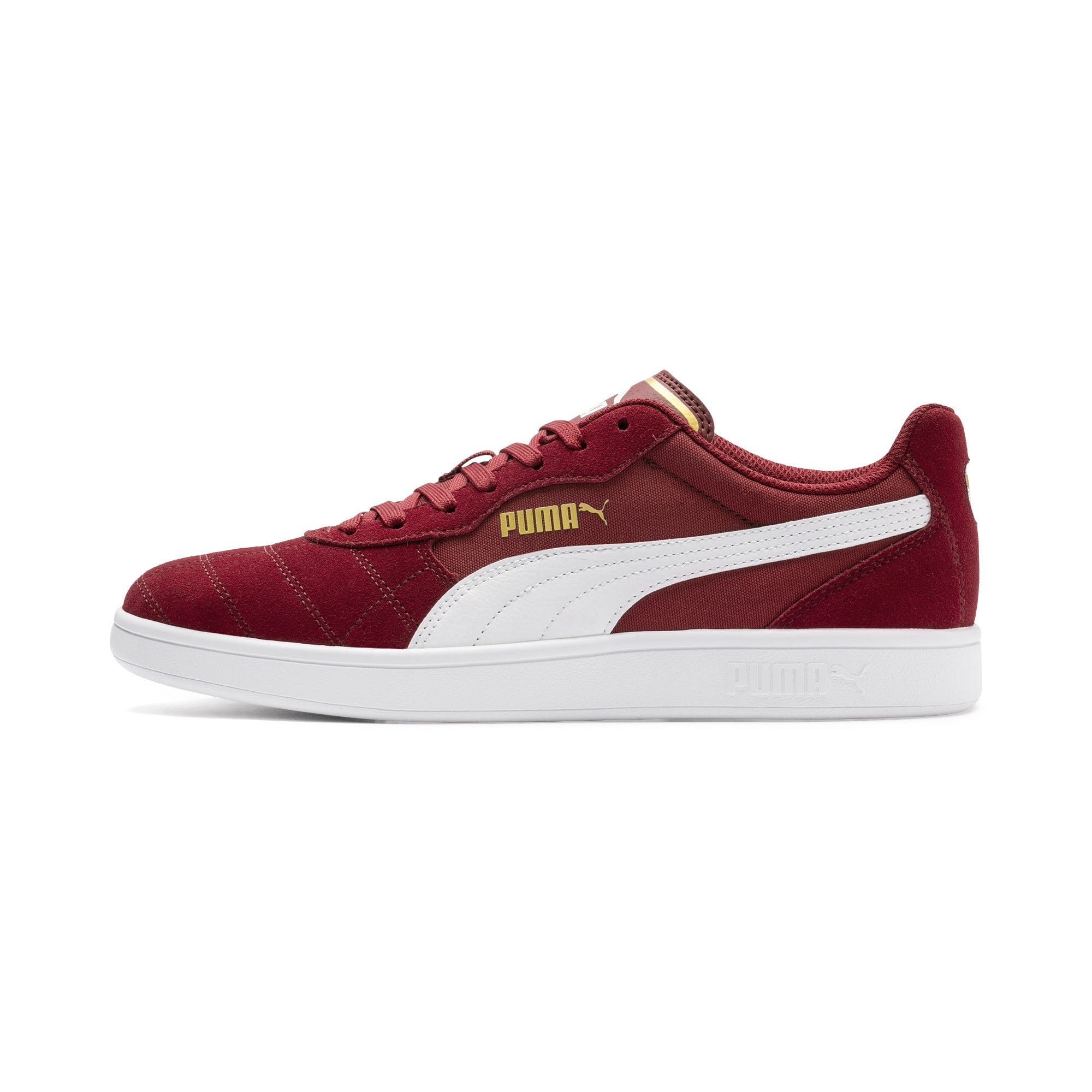 Astro Kick Sneakers, Rhubarb-Puma White-Gold, large