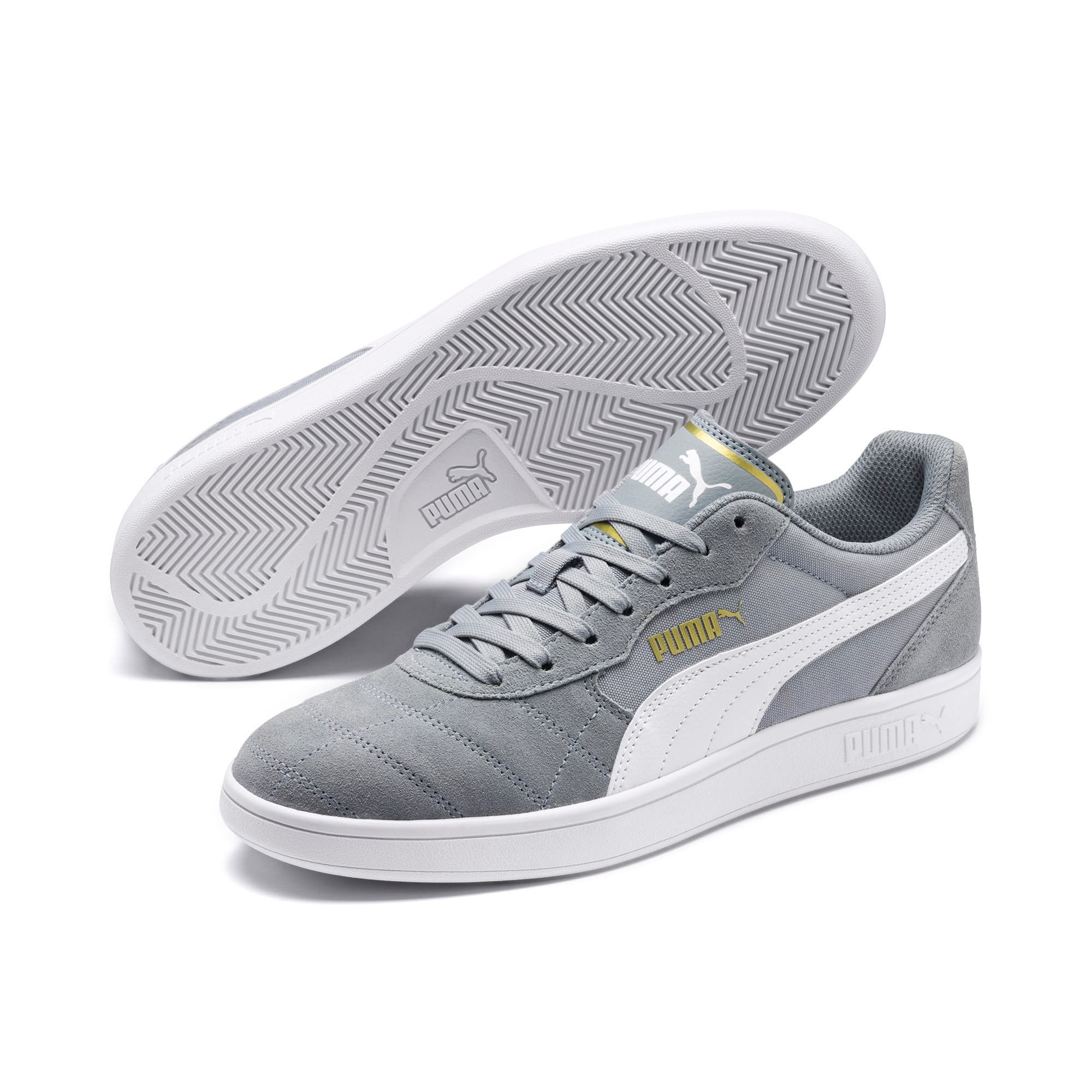 Thumbnail 2 of Astro Kick Sneakers, High Rise-Puma White-Gold, medium