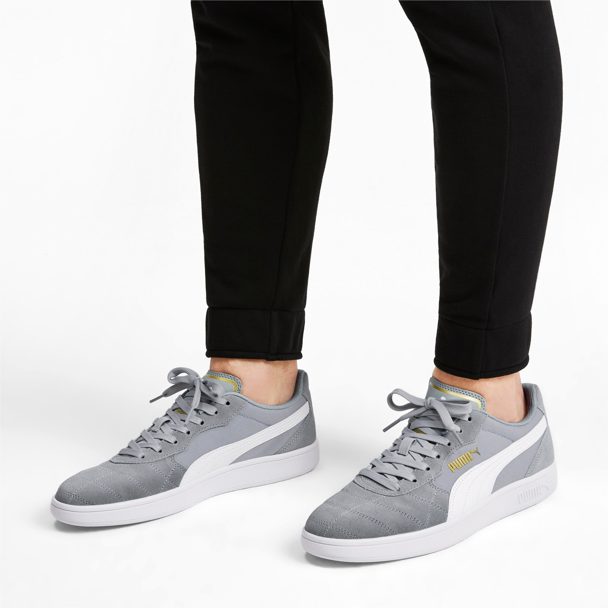 Thumbnail 3 of Astro Kick Sneakers, High Rise-Puma White-Gold, medium