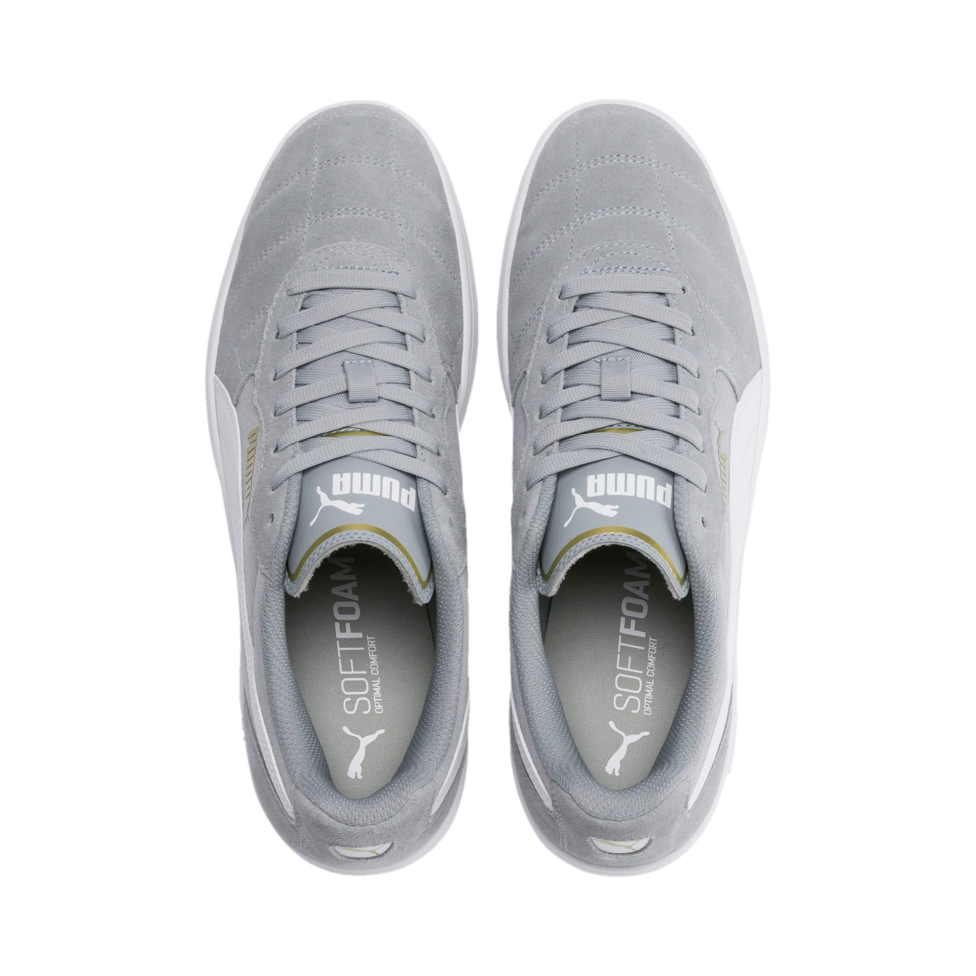 Thumbnail 7 of Astro Kick Sneakers, High Rise-Puma White-Gold, medium