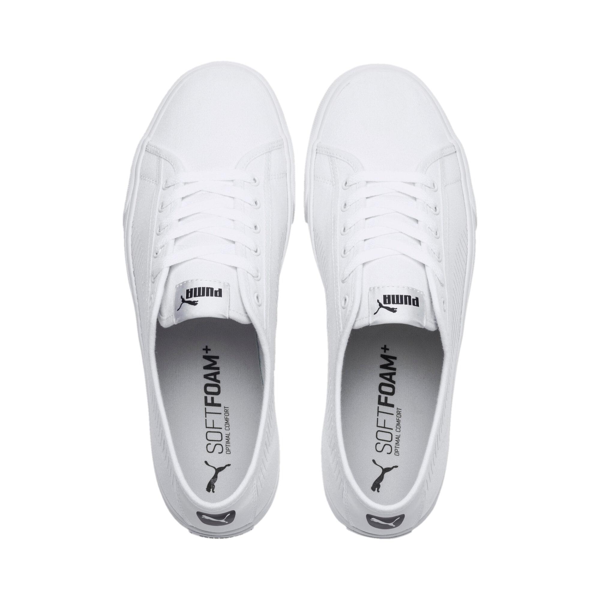 Thumbnail 6 of Bari Sneakers, Puma White-Puma White, medium