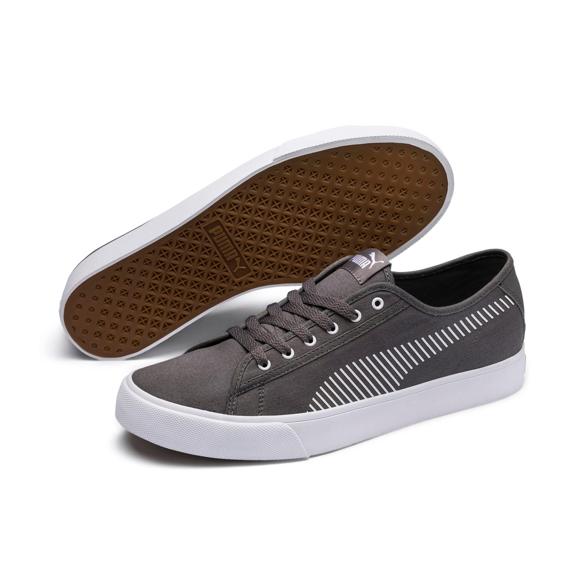 Thumbnail 2 of Bari Sneakers, Charcoal Gray-Puma White, medium
