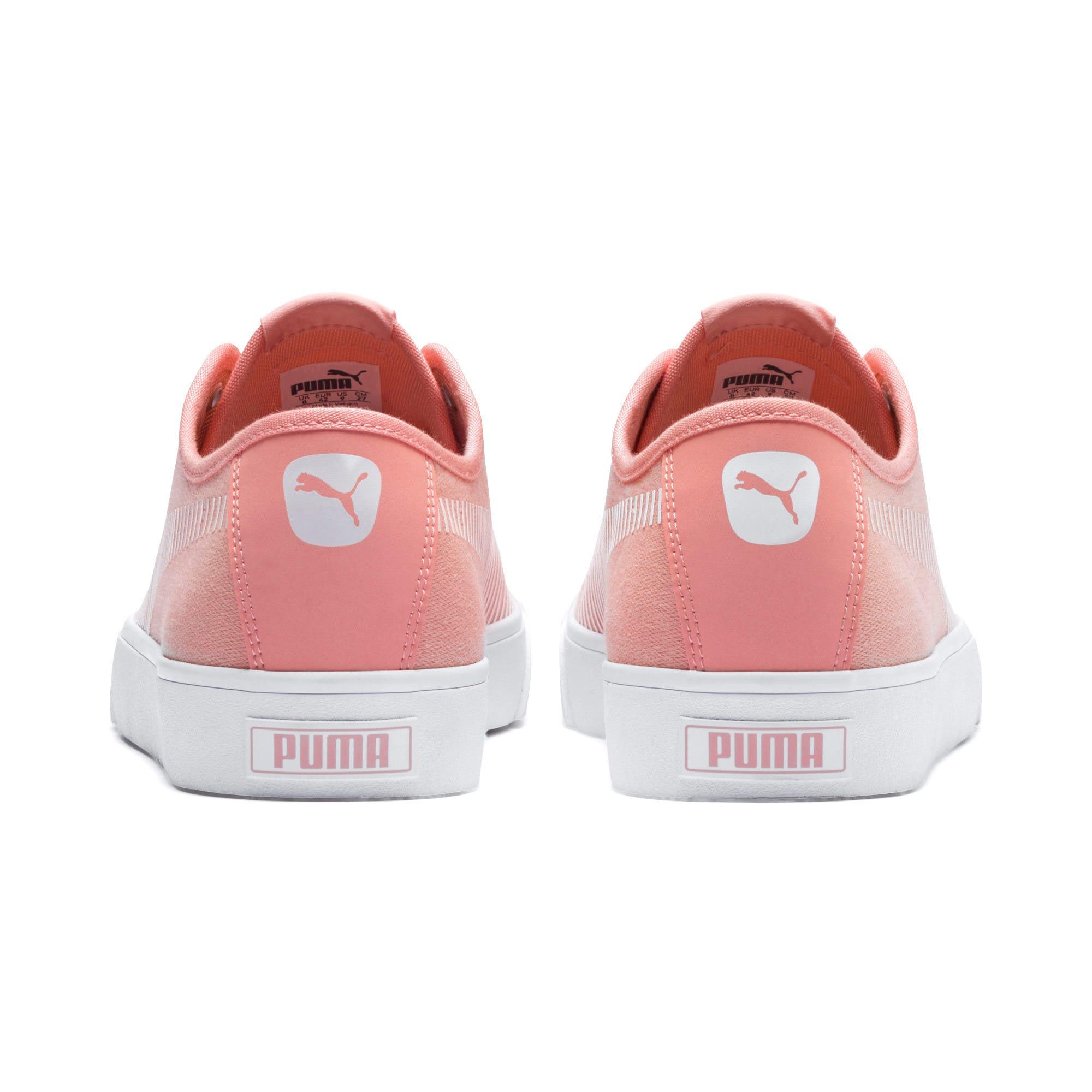 Thumbnail 4 of Bari Sneakers, Peach Bud-Puma White, medium