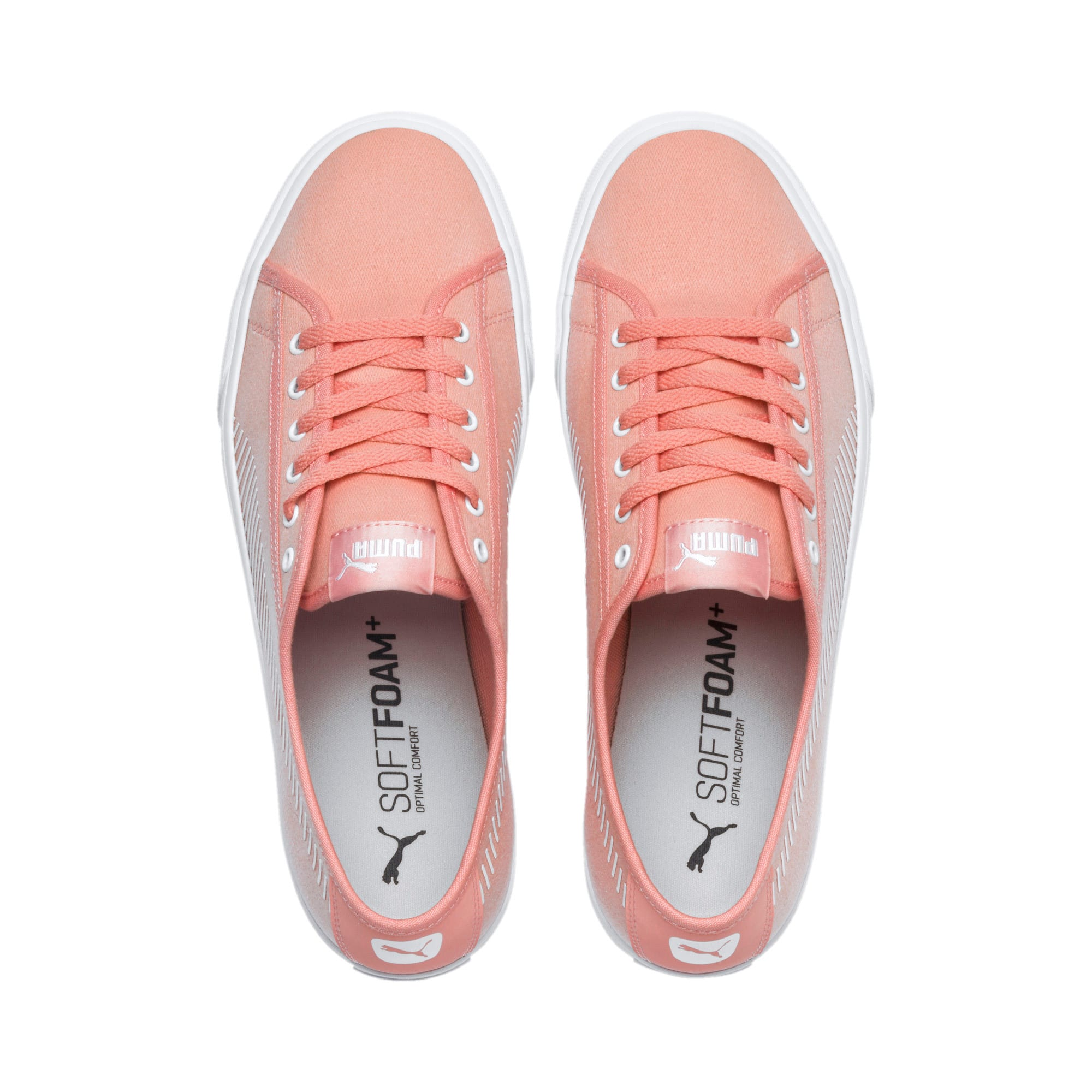 Thumbnail 6 of Bari Sneakers, Peach Bud-Puma White, medium