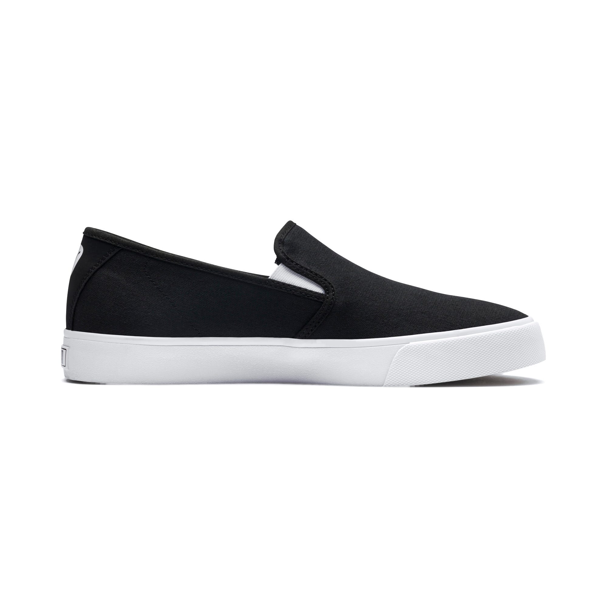 Thumbnail 5 of Bari Slip-On Shoes, Puma Black-Puma White, medium