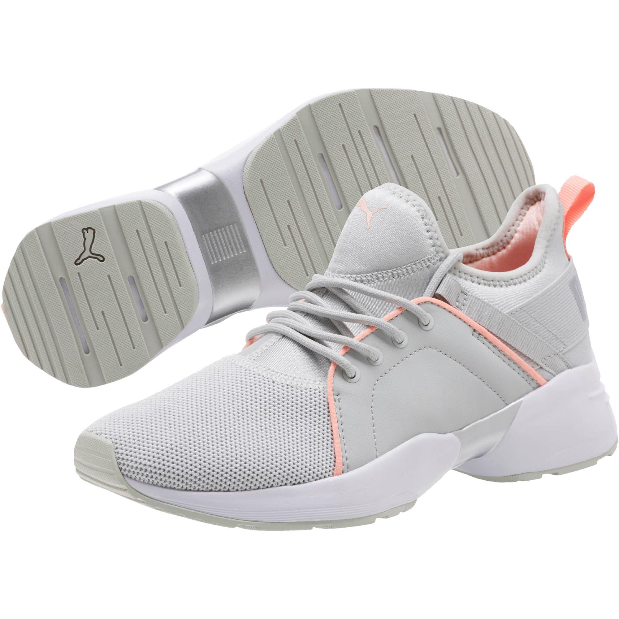 Thumbnail 2 of Sirena Women's Training Shoes, Glacier Gray-Peach Bud, medium