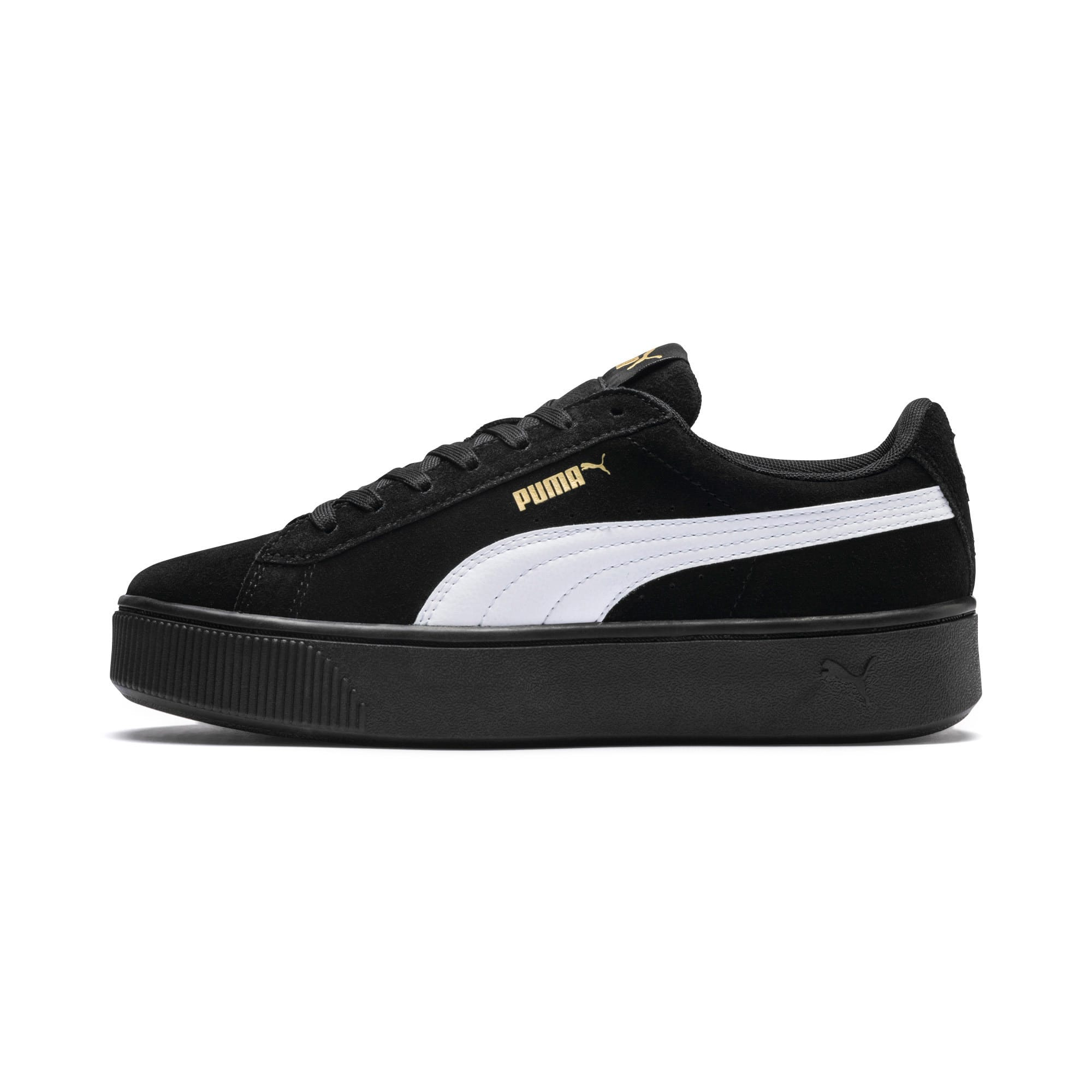 PUMA, Vikky Stacked SD Sneakers Low, lila