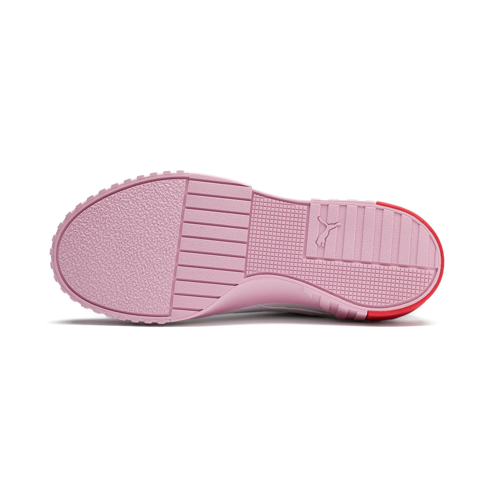 Thumbnail 5 of Basket Cali pour femme, Puma White-Pale Pink, medium