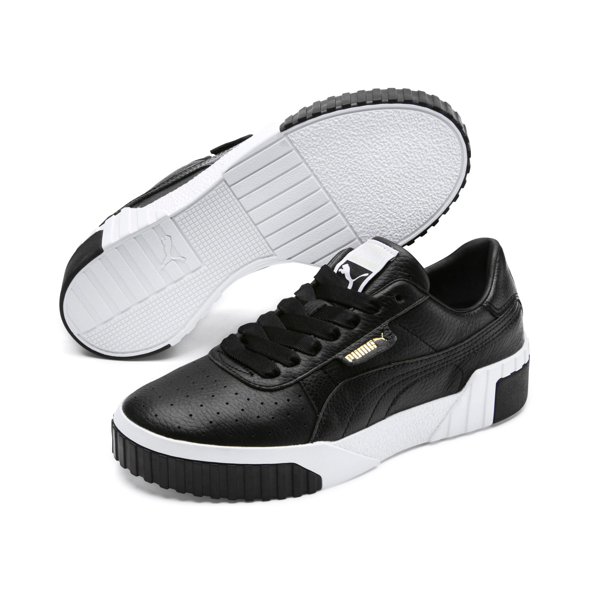 Thumbnail 3 of Cali Women's Trainers, Puma Black-Puma White, medium