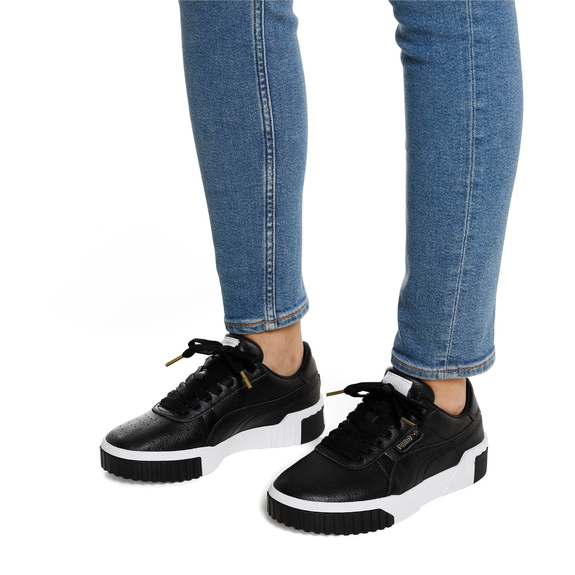 Thumbnail 2 of Cali Women's Trainers, Puma Black-Puma White, medium