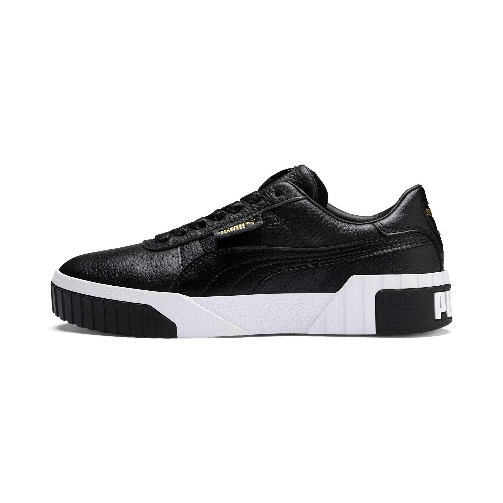 Thumbnail 1 of Cali Women's Trainers, Puma Black-Puma White, medium