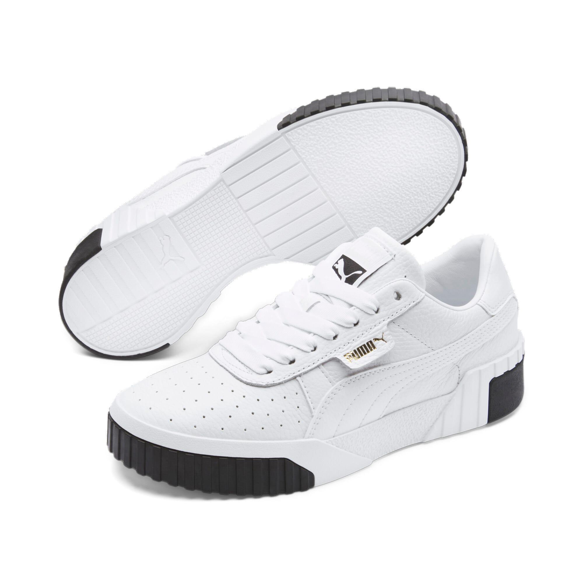 Miniatura 3 de Zapatos deportivos Cali para mujer, Puma White-Puma Black, mediano