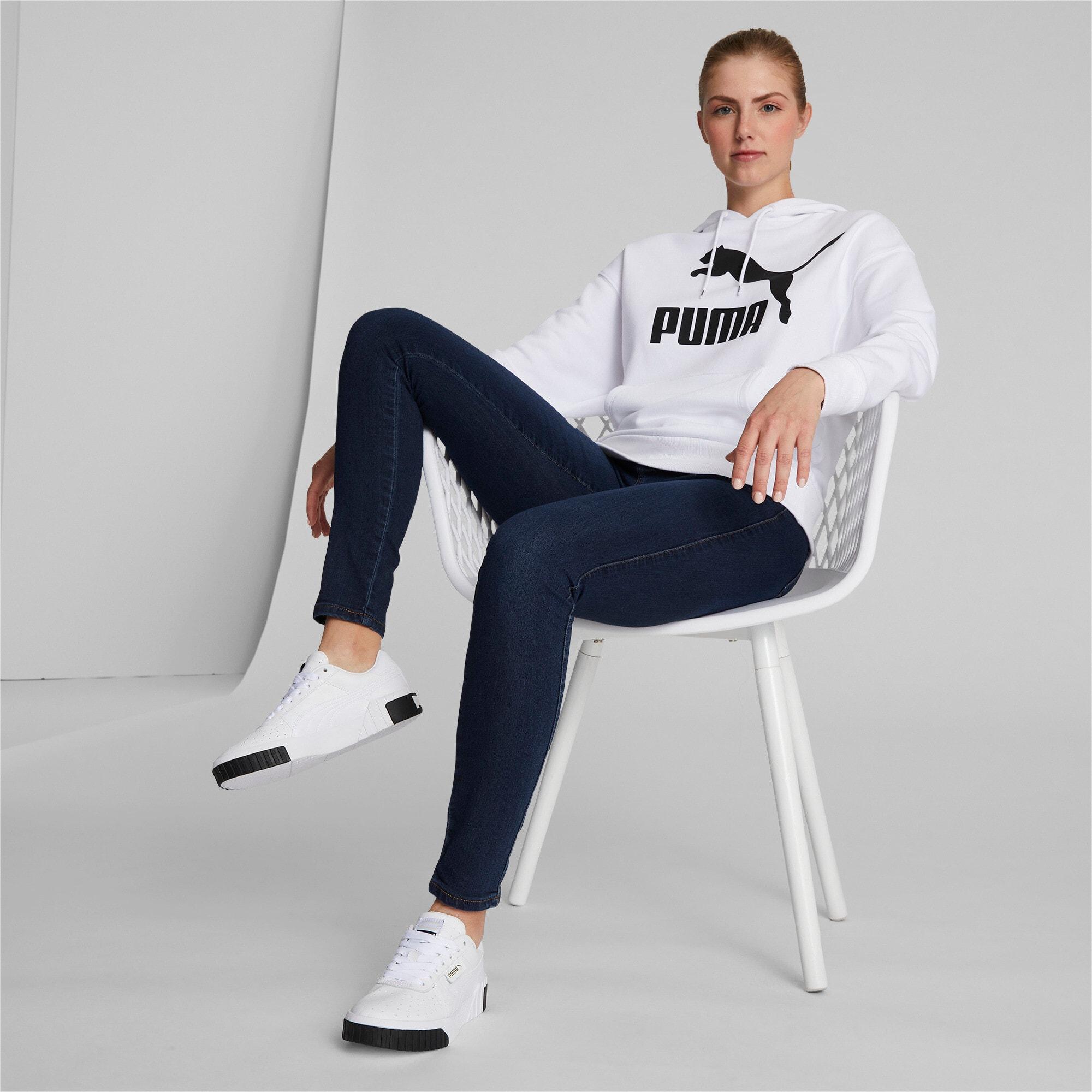 Miniatura 2 de Zapatos deportivos Cali para mujer, Puma White-Puma Black, mediano