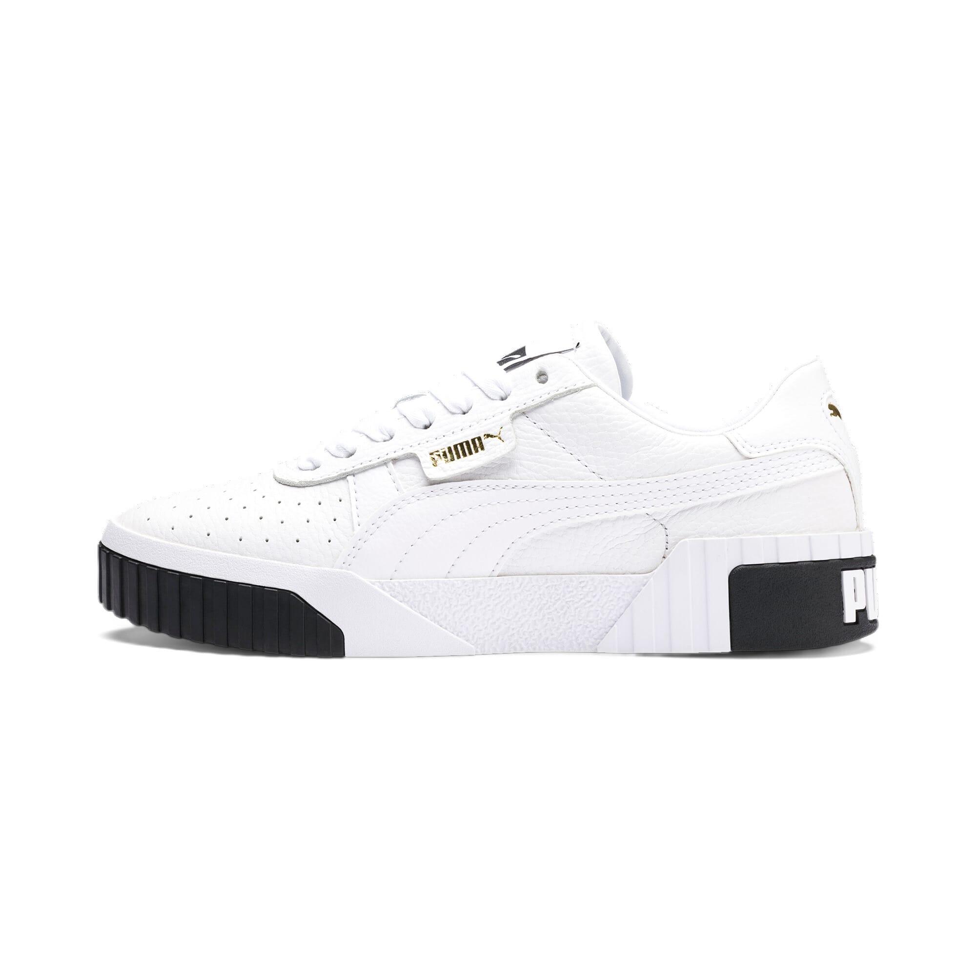 Miniatura 1 de Zapatos deportivos Cali para mujer, Puma White-Puma Black, mediano