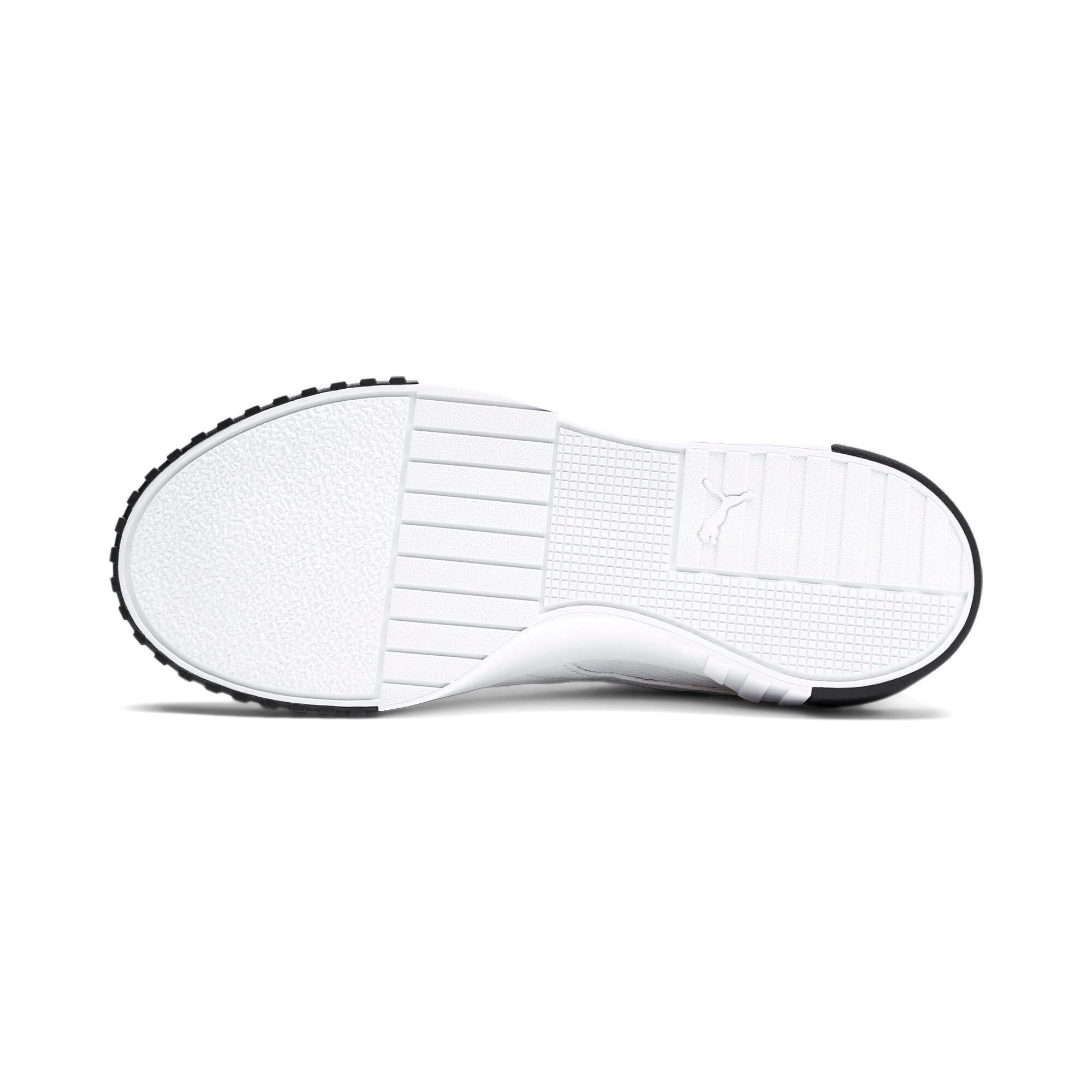 Miniatura 5 de Zapatos deportivos Cali para mujer, Puma White-Puma Black, mediano