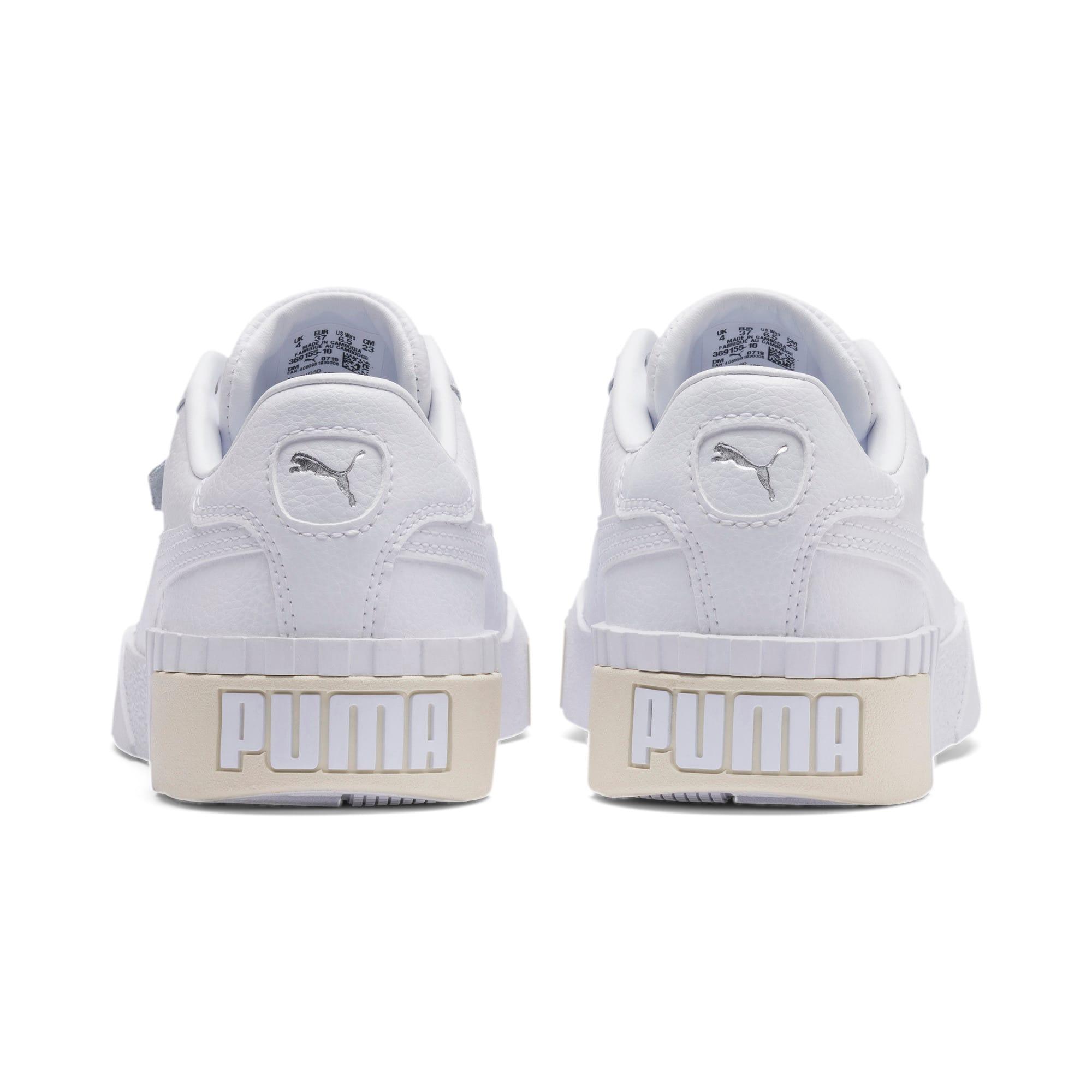 Imagen en miniatura 3 de Zapatillas de mujer Cali, Puma White-Whisper White, mediana