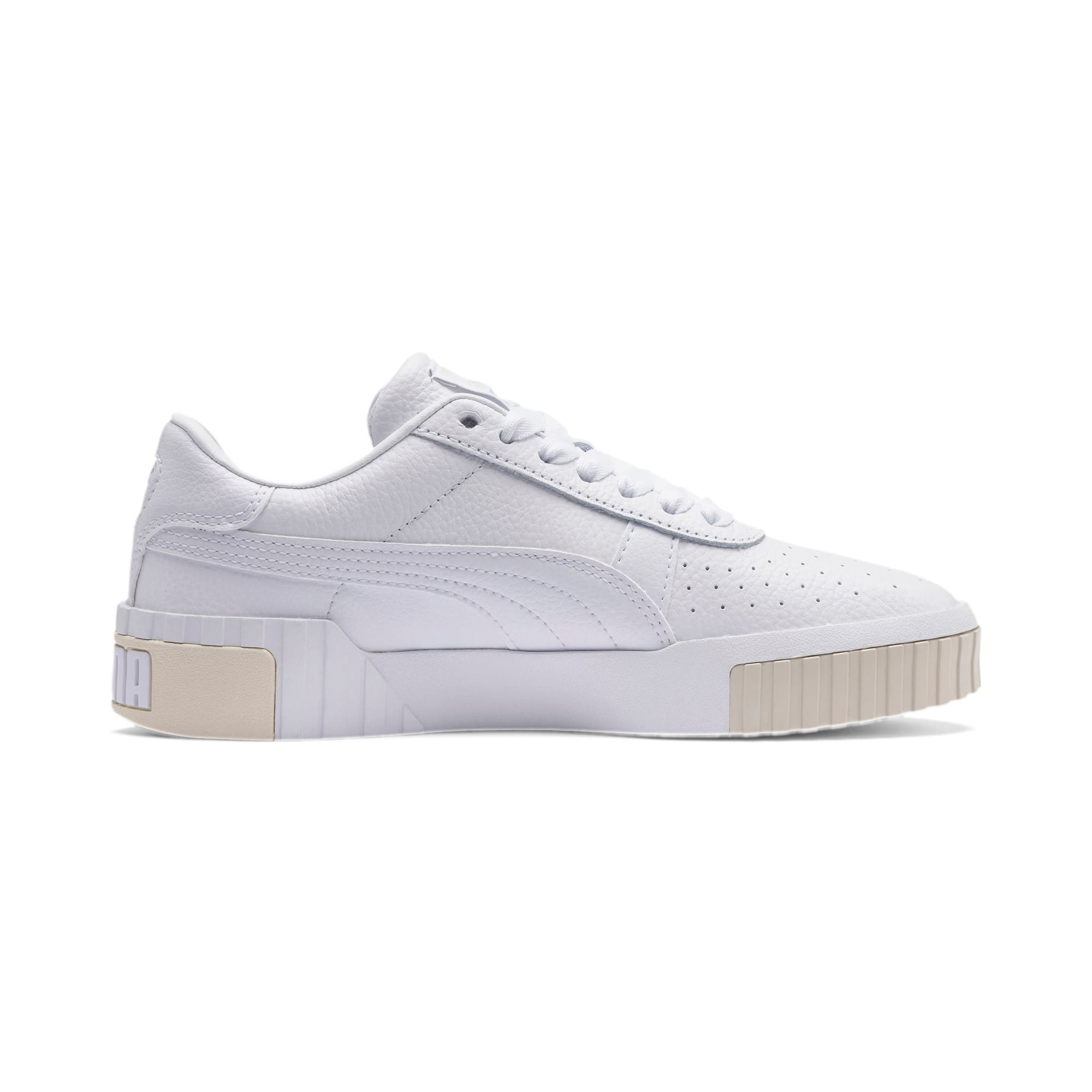 Imagen en miniatura 5 de Zapatillas de mujer Cali, Puma White-Whisper White, mediana