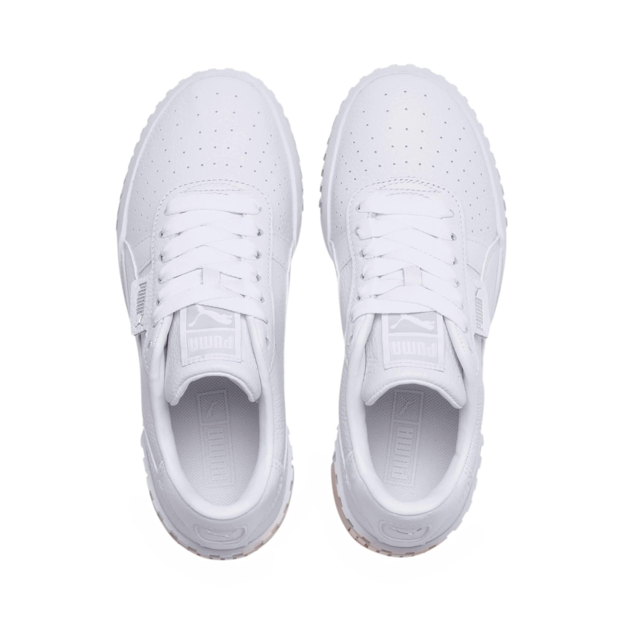 Imagen en miniatura 6 de Zapatillas de mujer Cali, Puma White-Whisper White, mediana