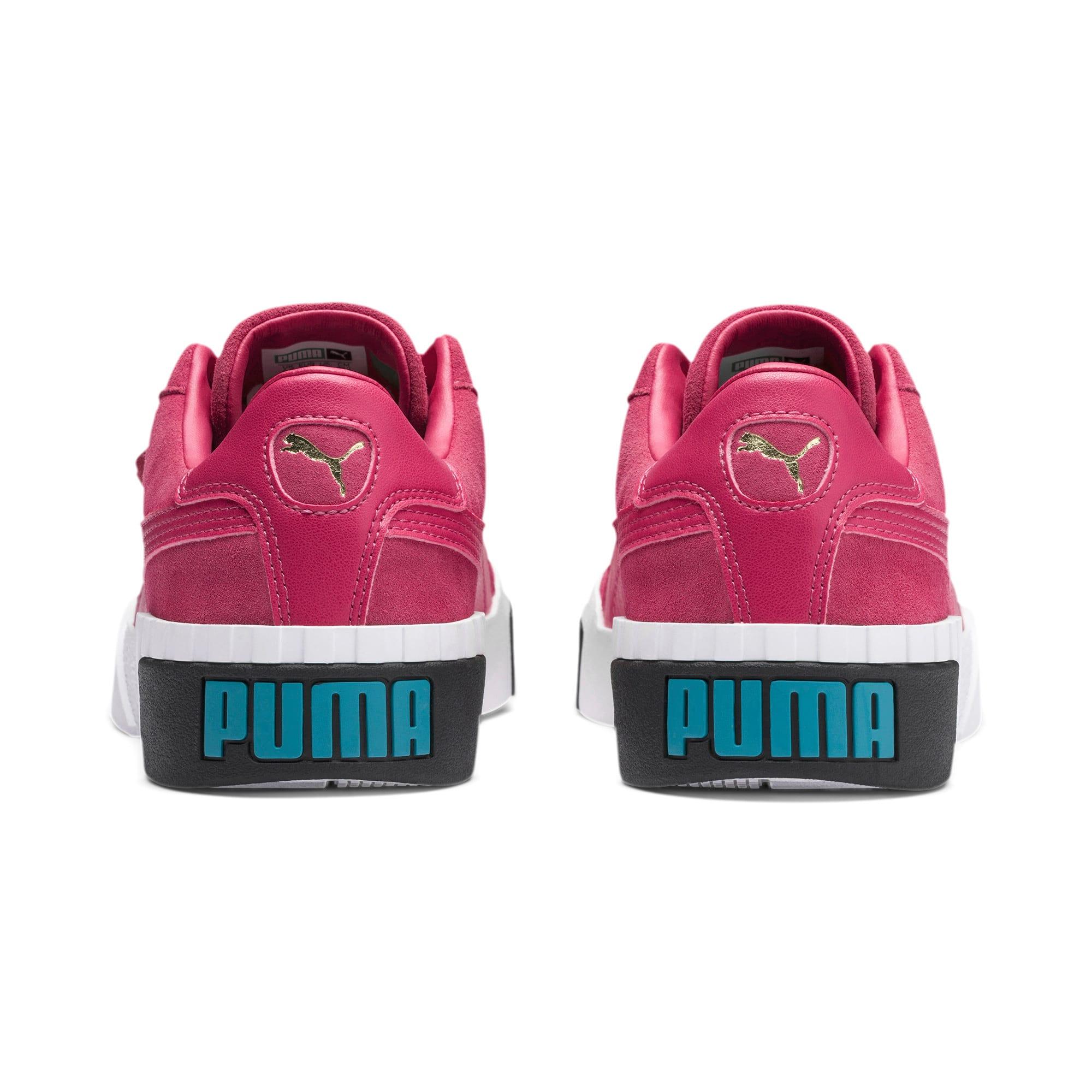 Miniatura 4 de Zapatos deportivos Cali Suede de mujer, Fuchsia Purple, mediano