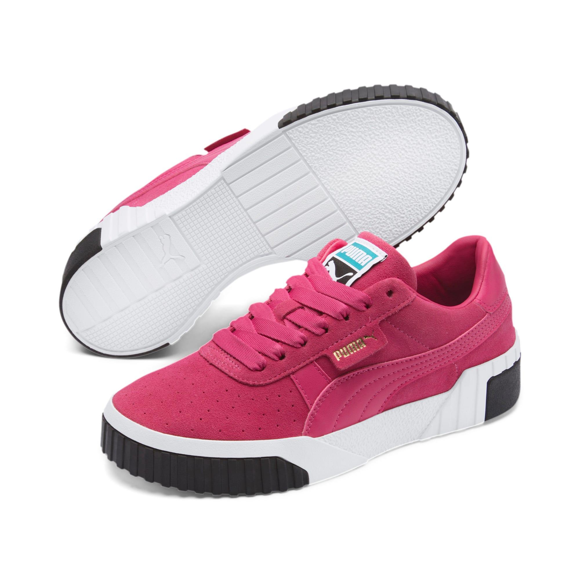 Miniatura 2 de Zapatos deportivos Cali Suede de mujer, Fuchsia Purple, mediano
